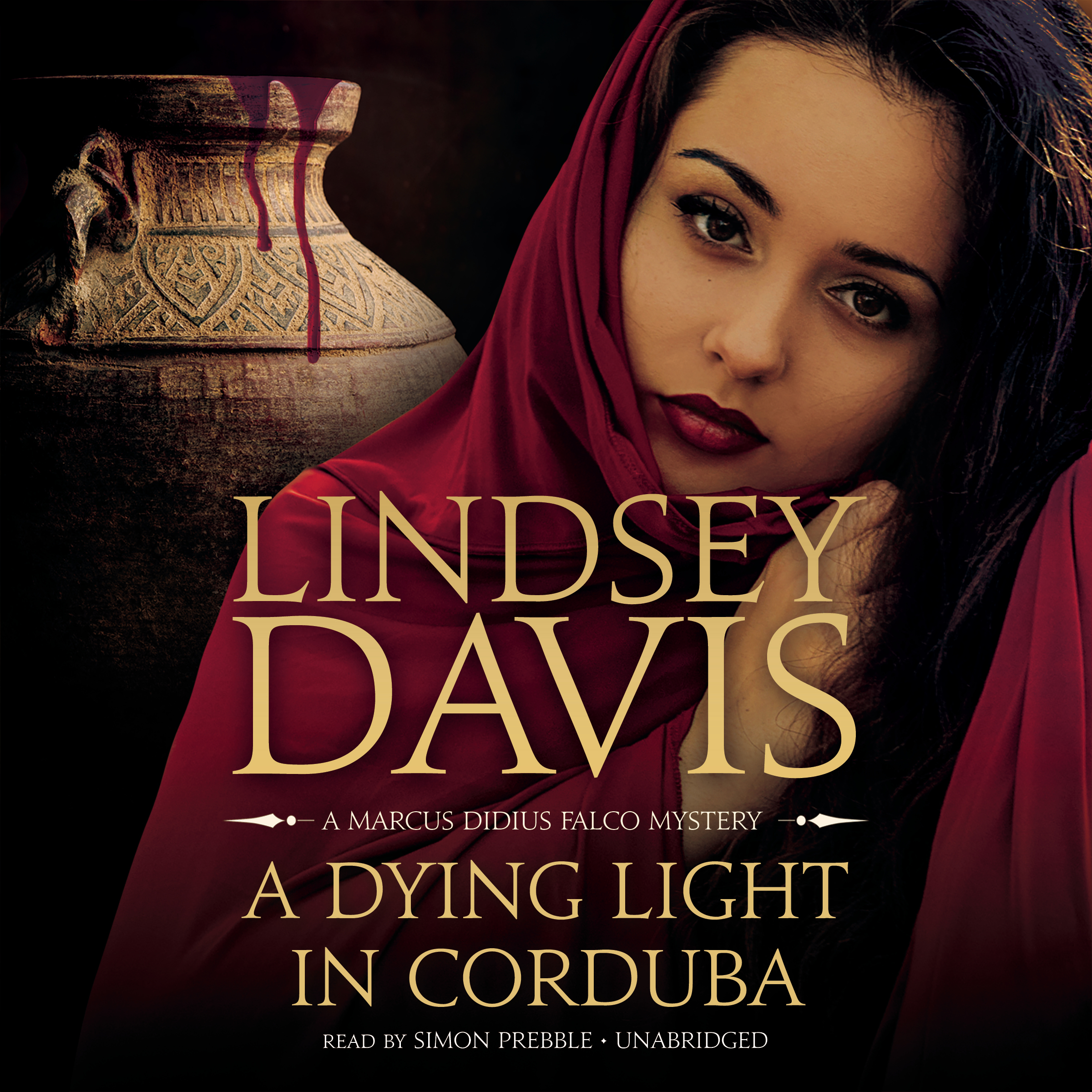 Printable A Dying Light in Corduba: A Marcus Didius Falco Mystery Audiobook Cover Art