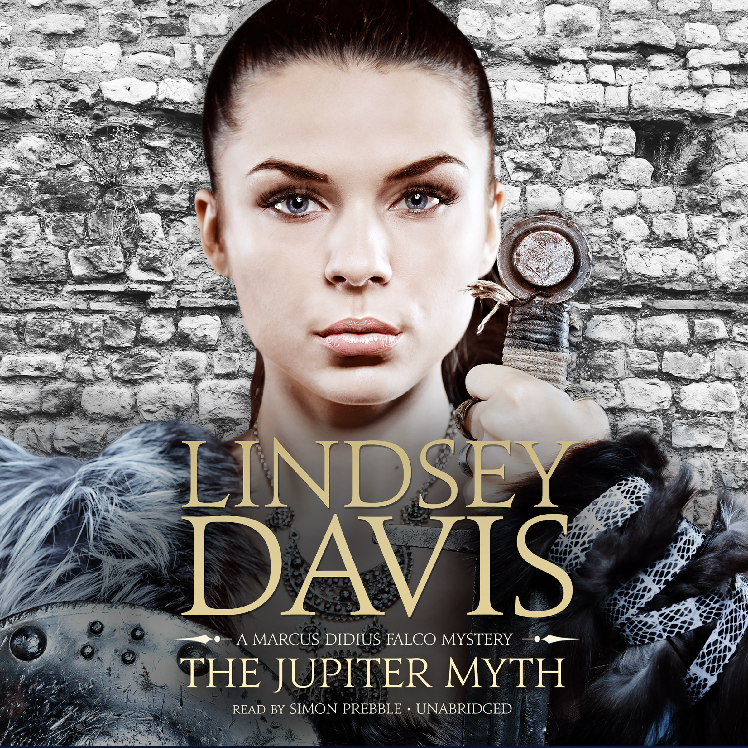 Printable The Jupiter Myth: A Marcus Didius Falco Mystery Audiobook Cover Art