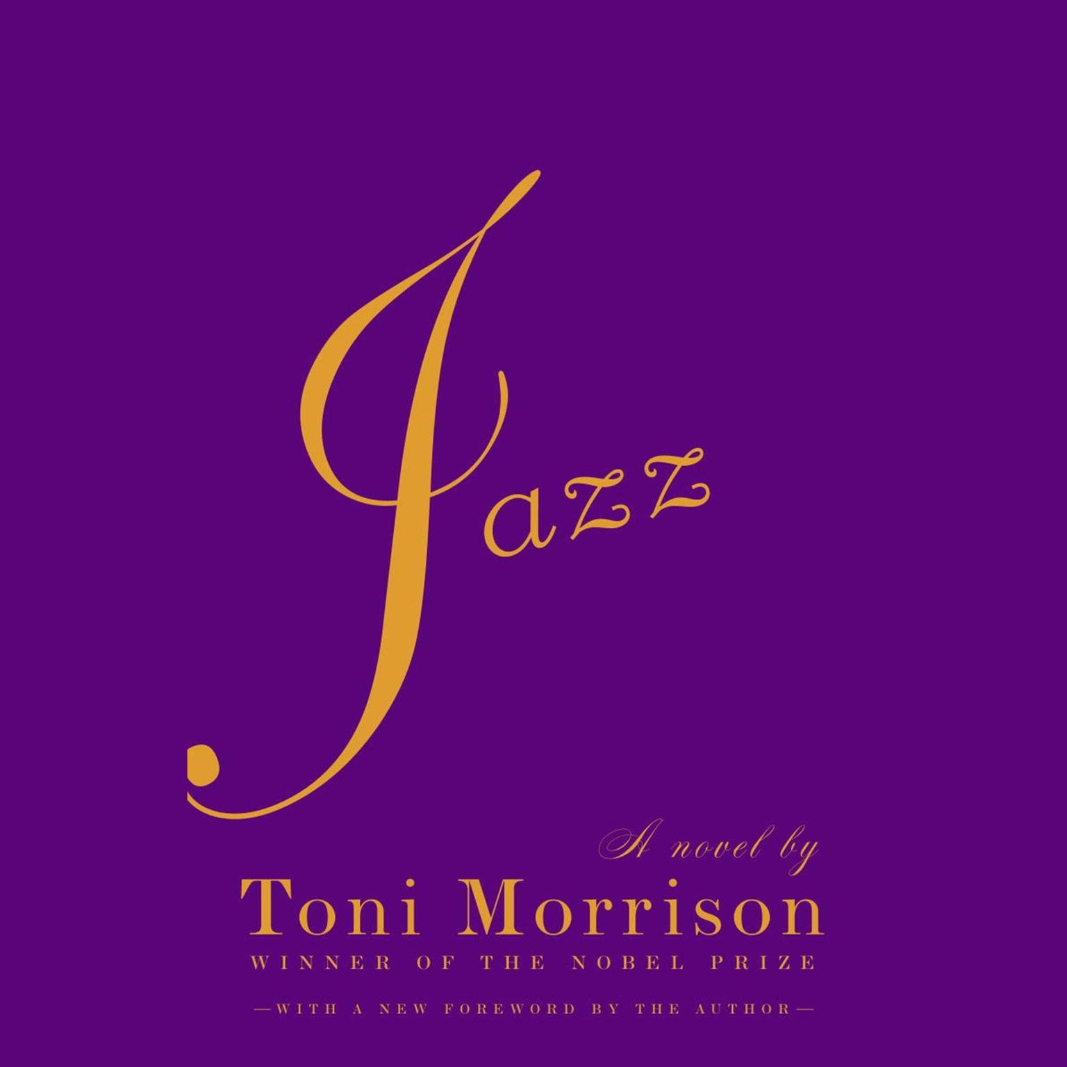 Printable Jazz Audiobook Cover Art