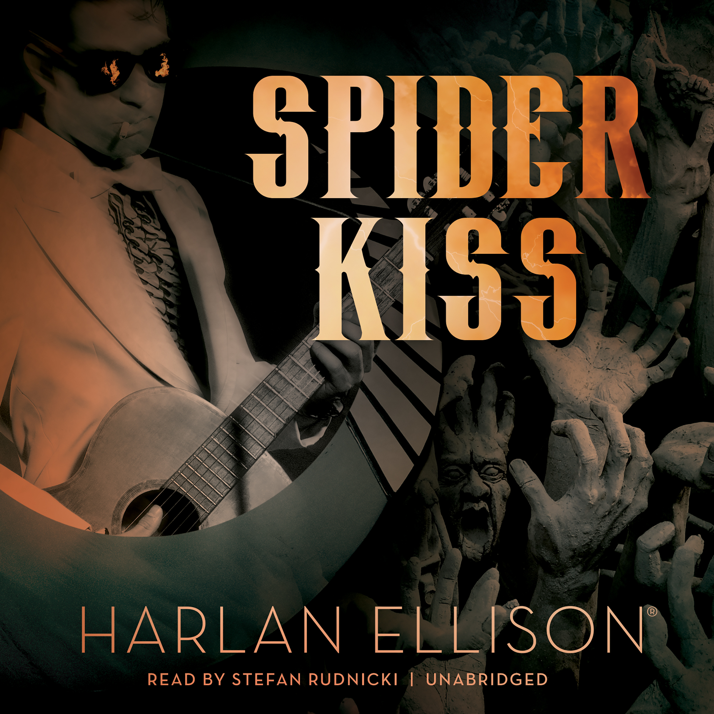 Printable Spider Kiss Audiobook Cover Art