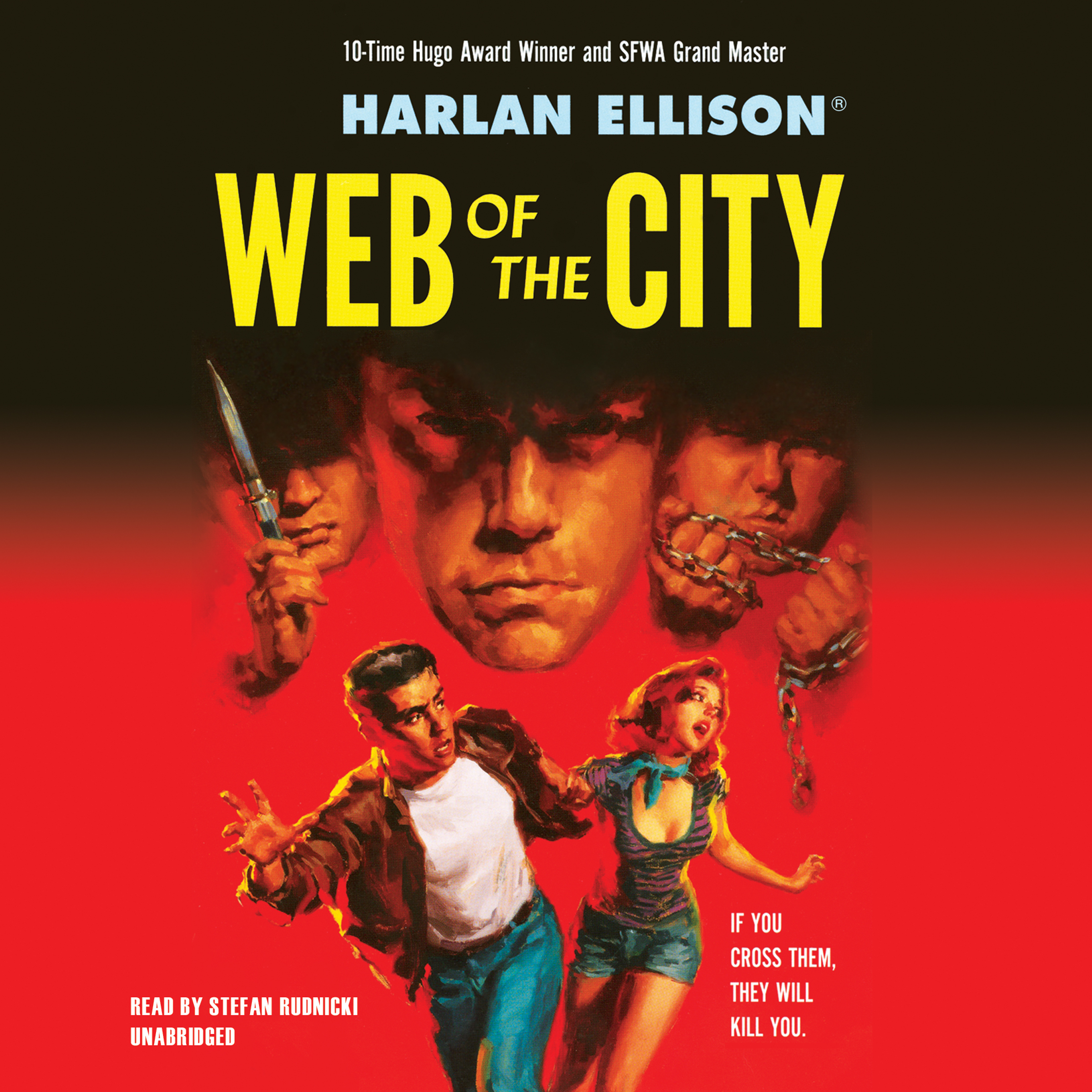 Printable Web of the City Audiobook Cover Art