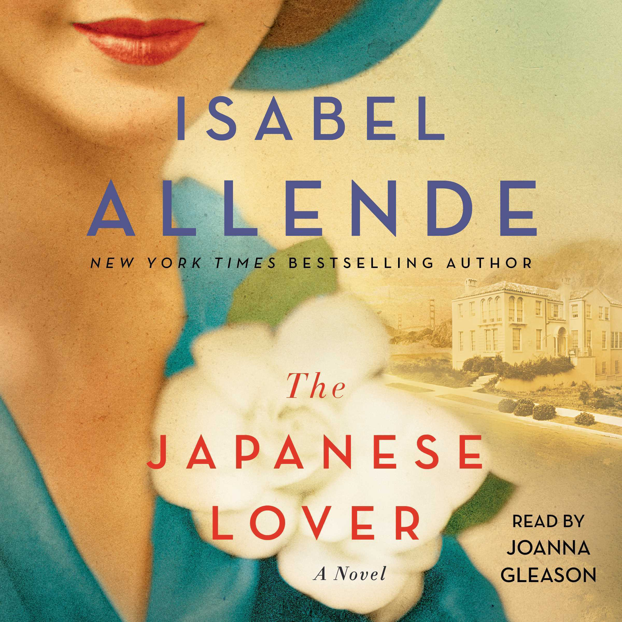 Printable The Japanese Lover Audiobook Cover Art
