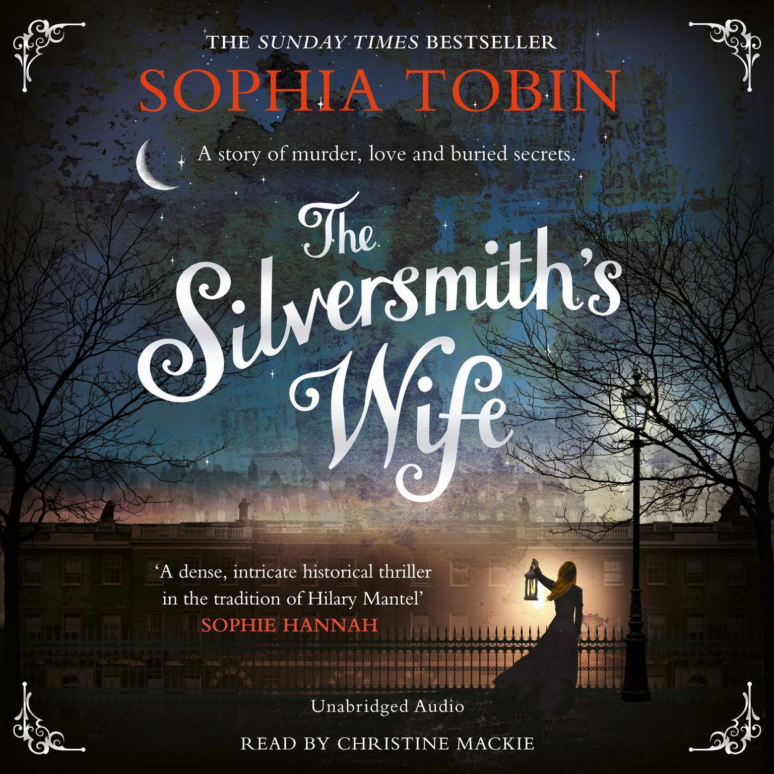 Printable The Silversmith's Wife Audiobook Cover Art