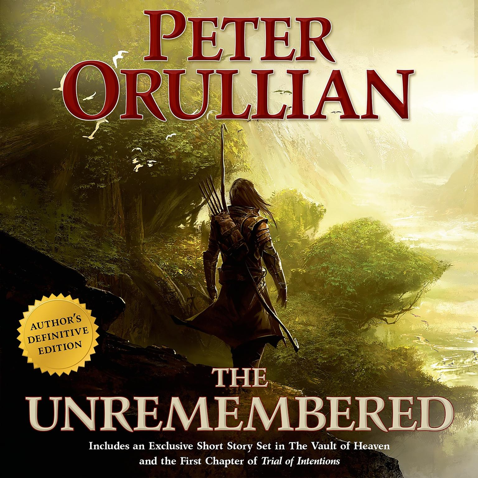 Printable The Unremembered: Author's Definitive Edition Audiobook Cover Art