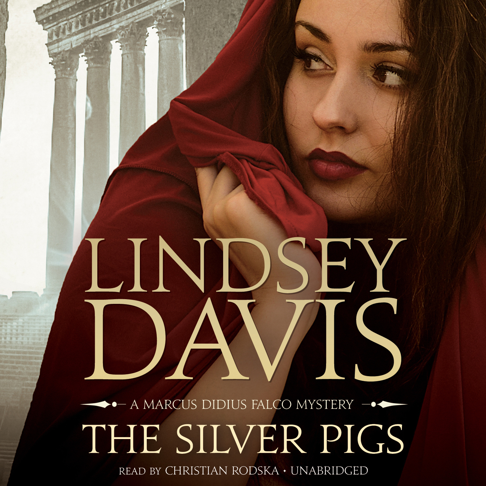 Printable The Silver Pigs: A Marcus Didius Falco Mystery Audiobook Cover Art