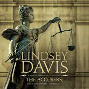 The Accusers Audiobook, by Lindsey Davis