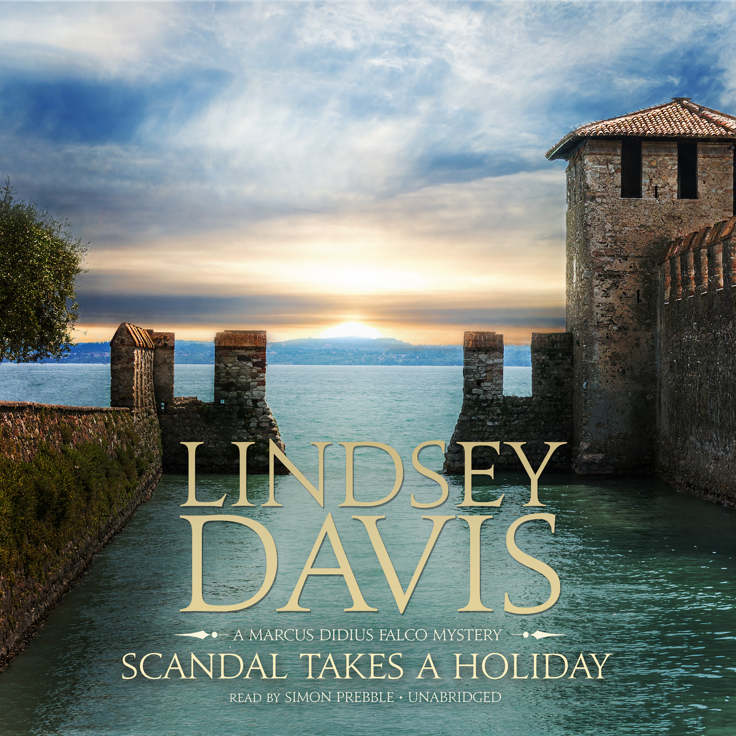 Printable Scandal Takes a Holiday: A Marcus Didius Falco Mystery Audiobook Cover Art