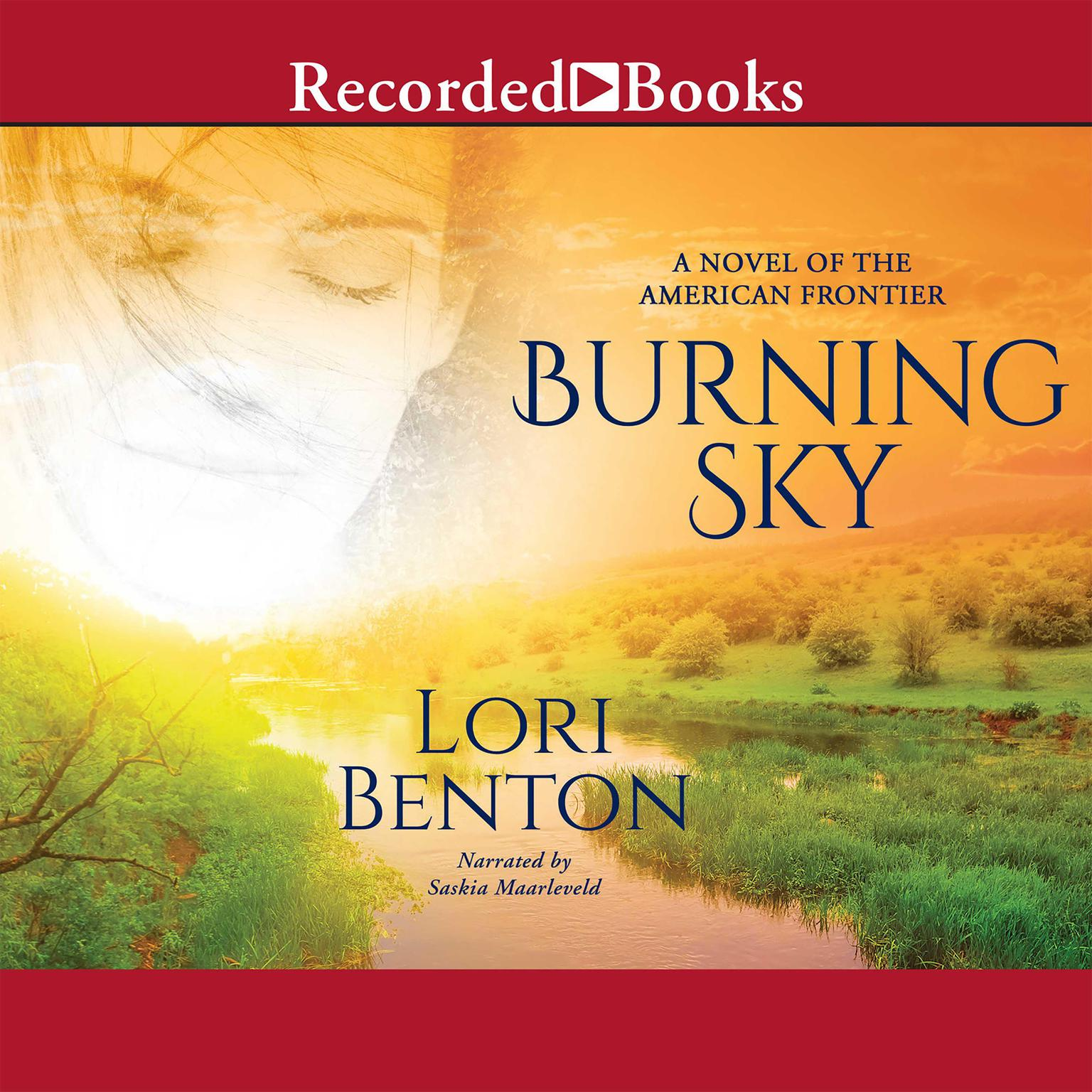 Printable Burning Sky: A Novel of the American Frontier Audiobook Cover Art
