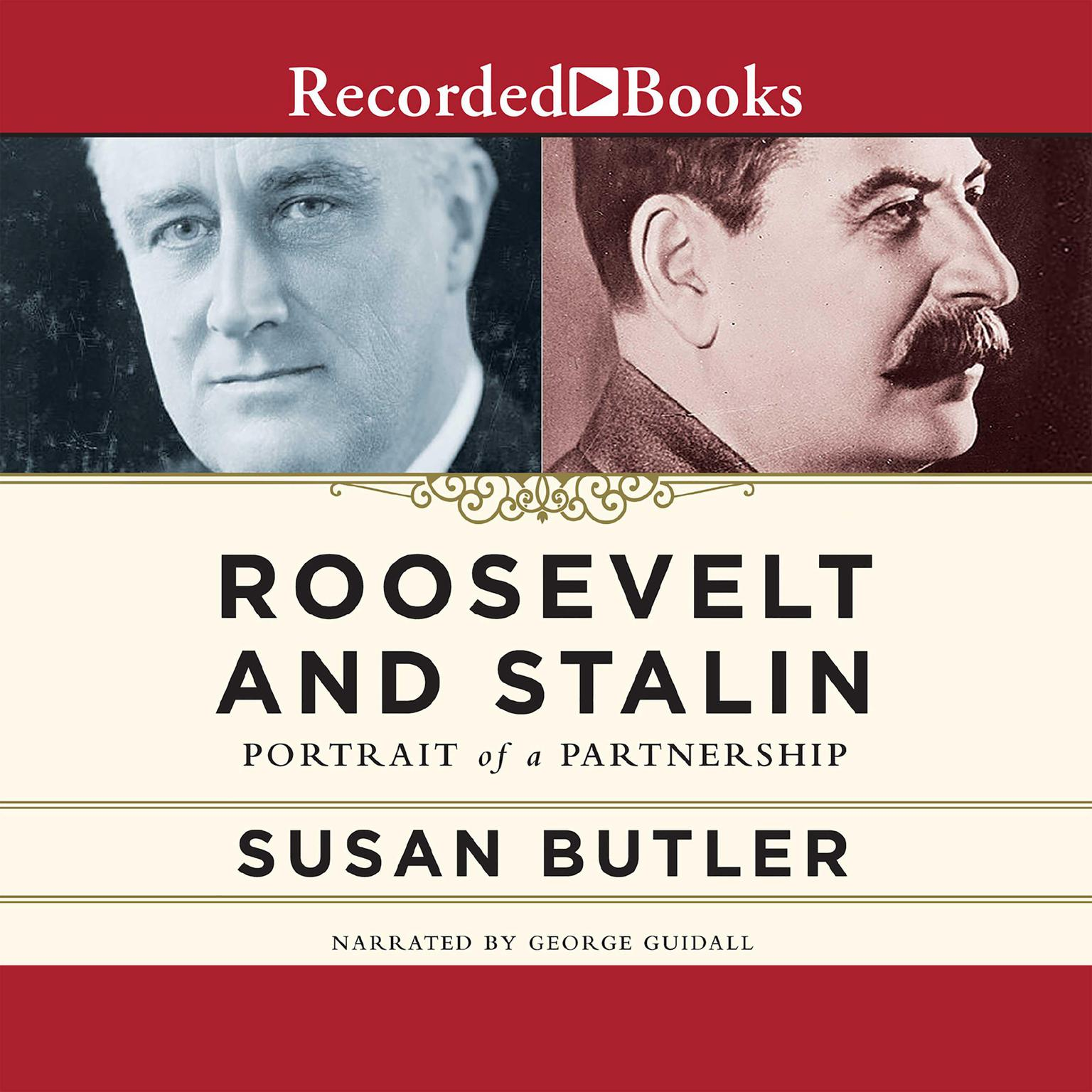 Printable Roosevelt and Stalin: Portrait of a Partnership Audiobook Cover Art