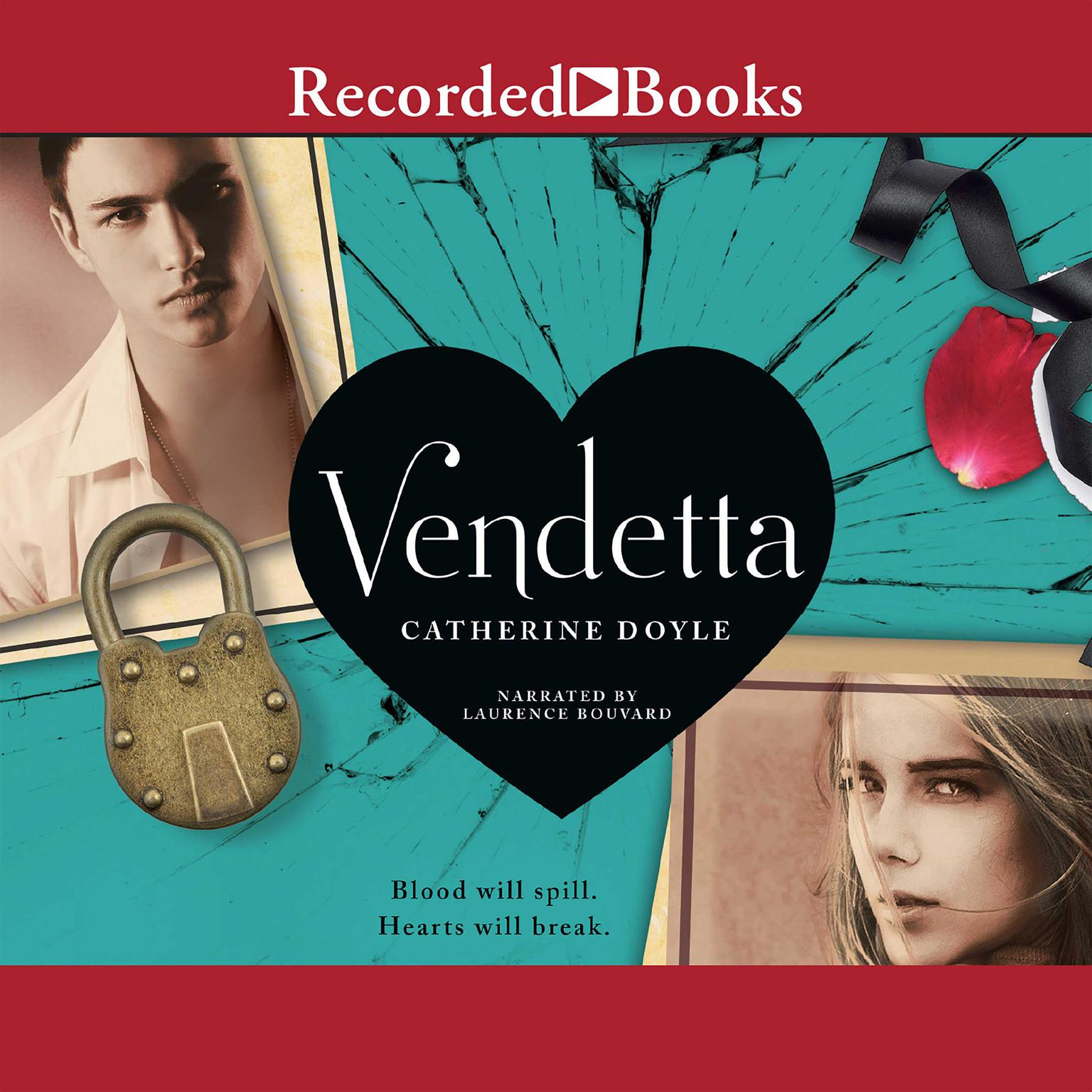 Printable Vendetta Audiobook Cover Art