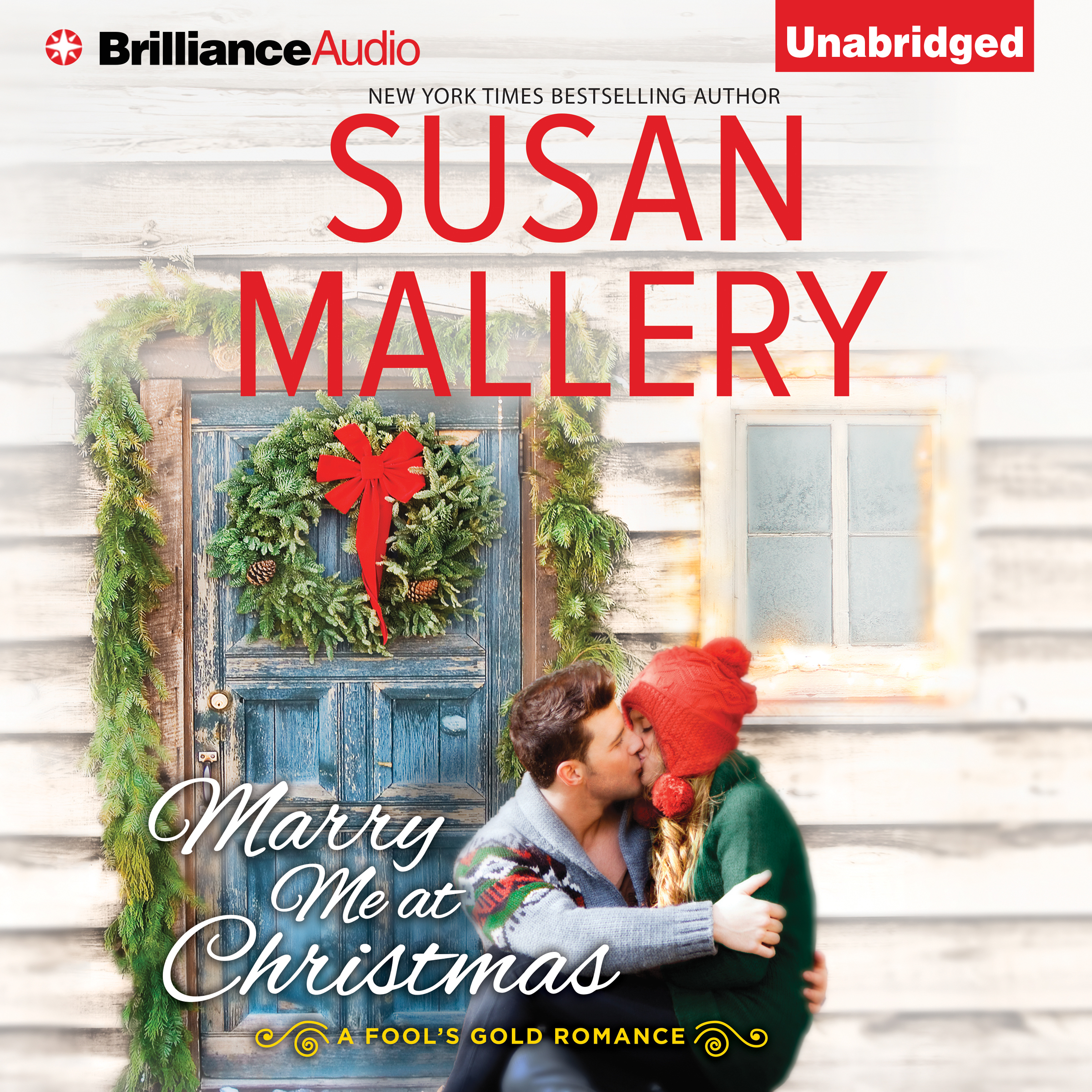 Printable Marry Me at Christmas Audiobook Cover Art