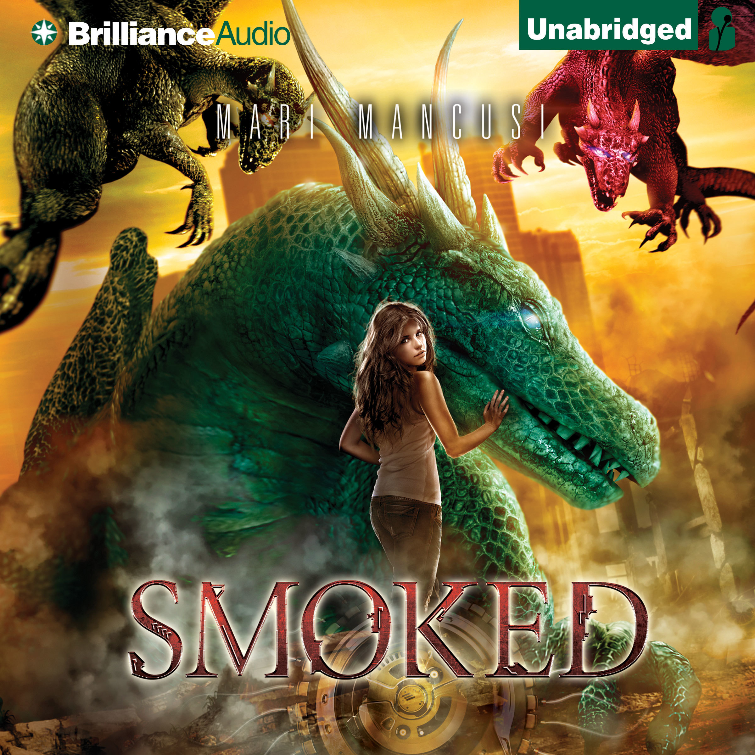 Printable Smoked Audiobook Cover Art