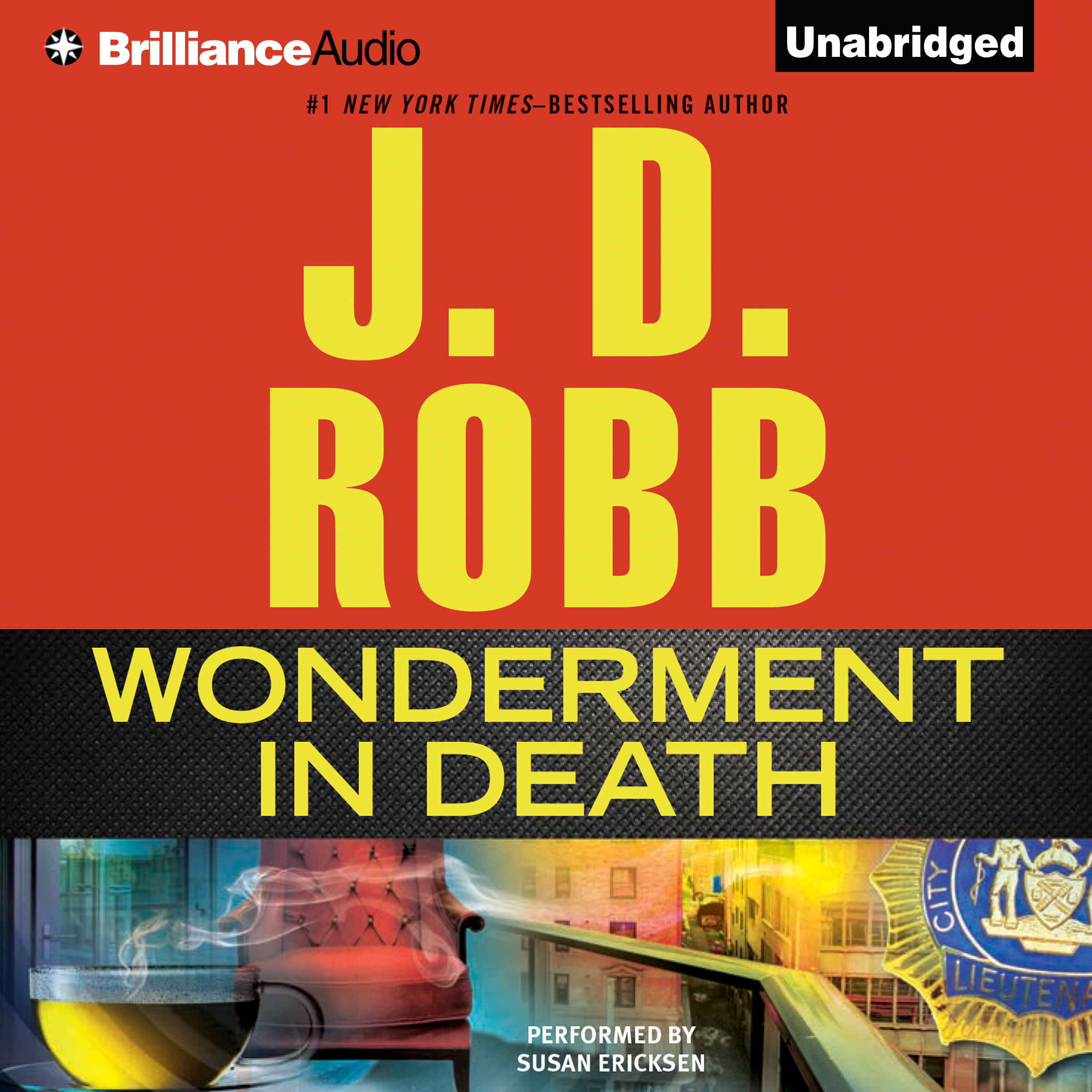 Printable Wonderment in Death Audiobook Cover Art