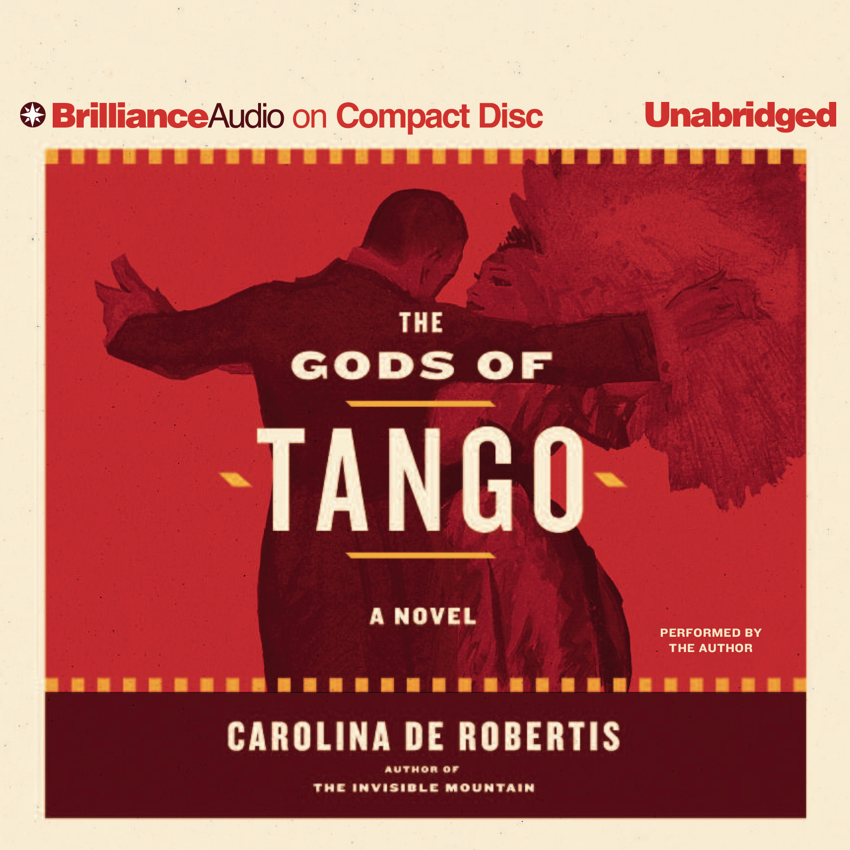 Printable The Gods of Tango: A Novel Audiobook Cover Art