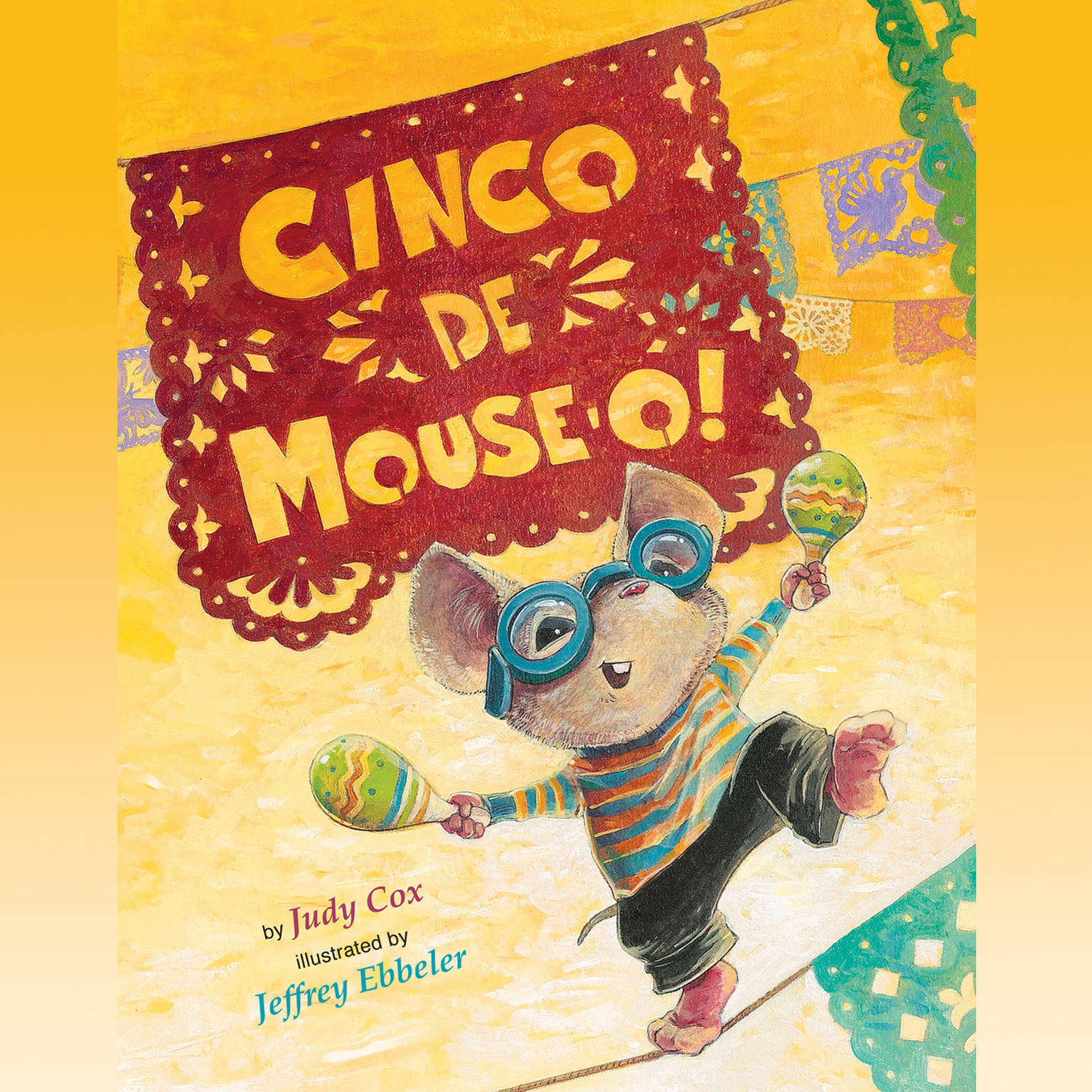 Printable Cinco de Mouse-O! Audiobook Cover Art