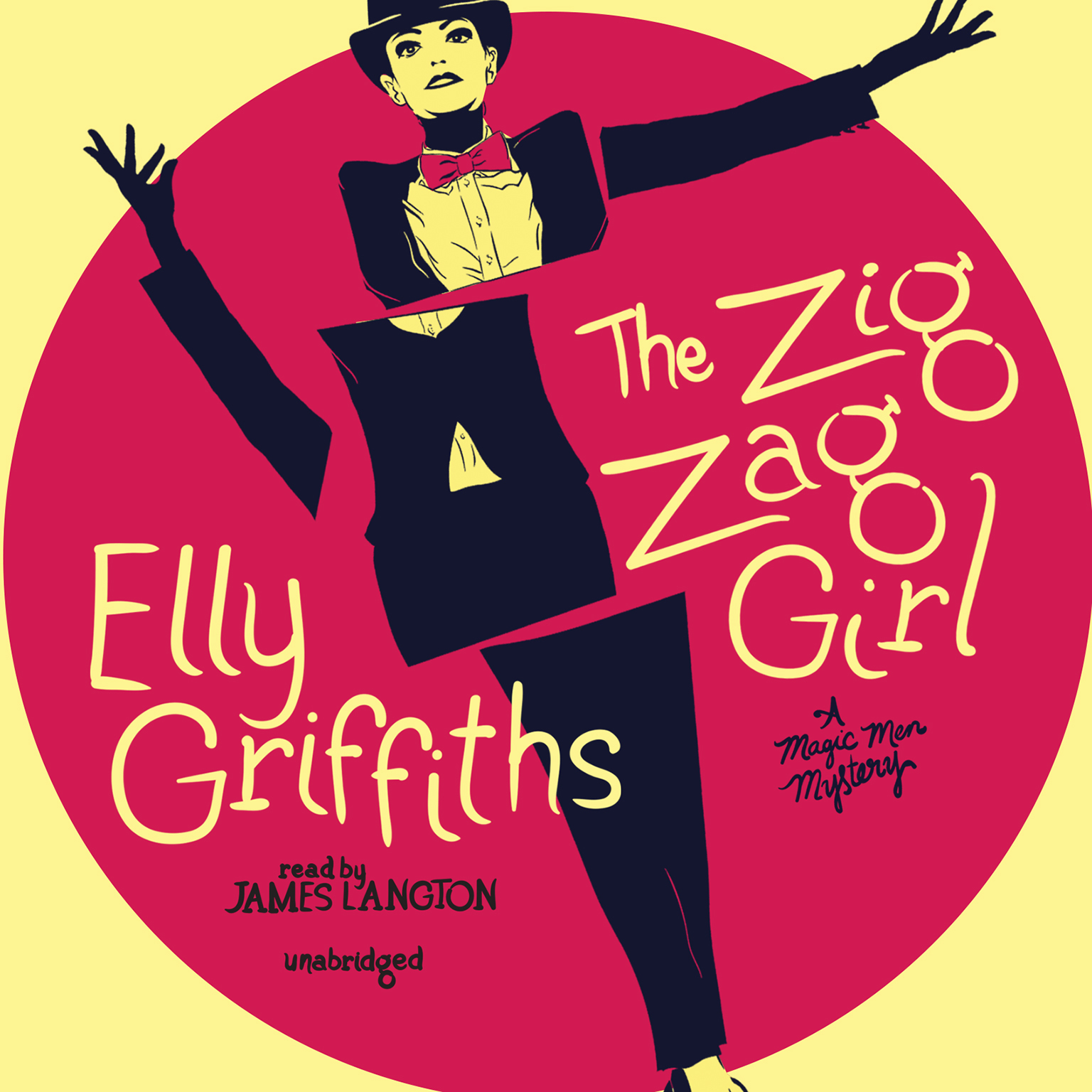 Printable The Zig Zag Girl Audiobook Cover Art