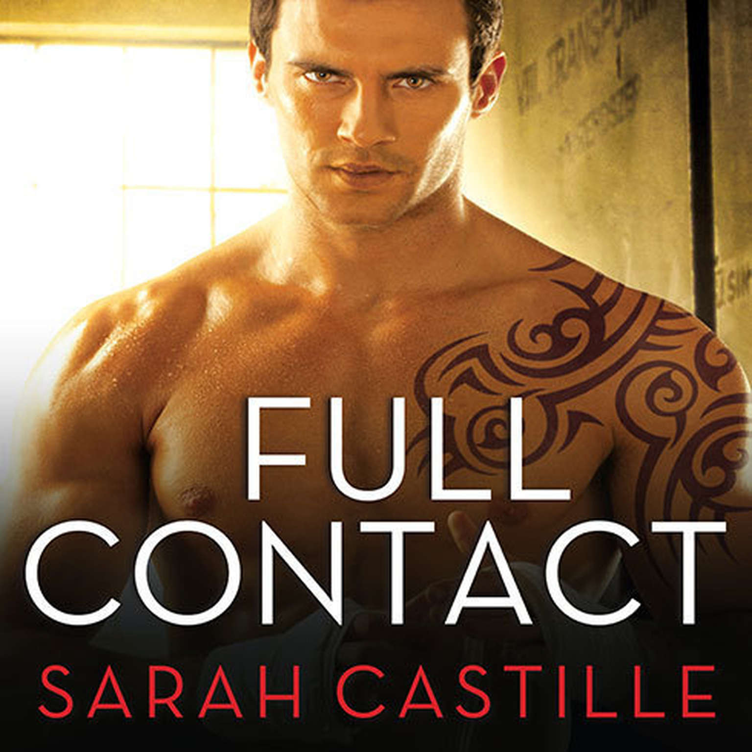 Printable Full Contact Audiobook Cover Art
