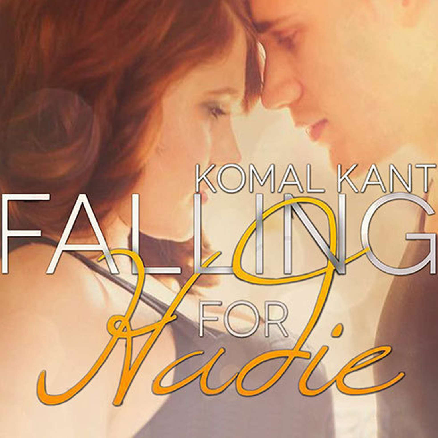 Printable Falling for Hadie Audiobook Cover Art