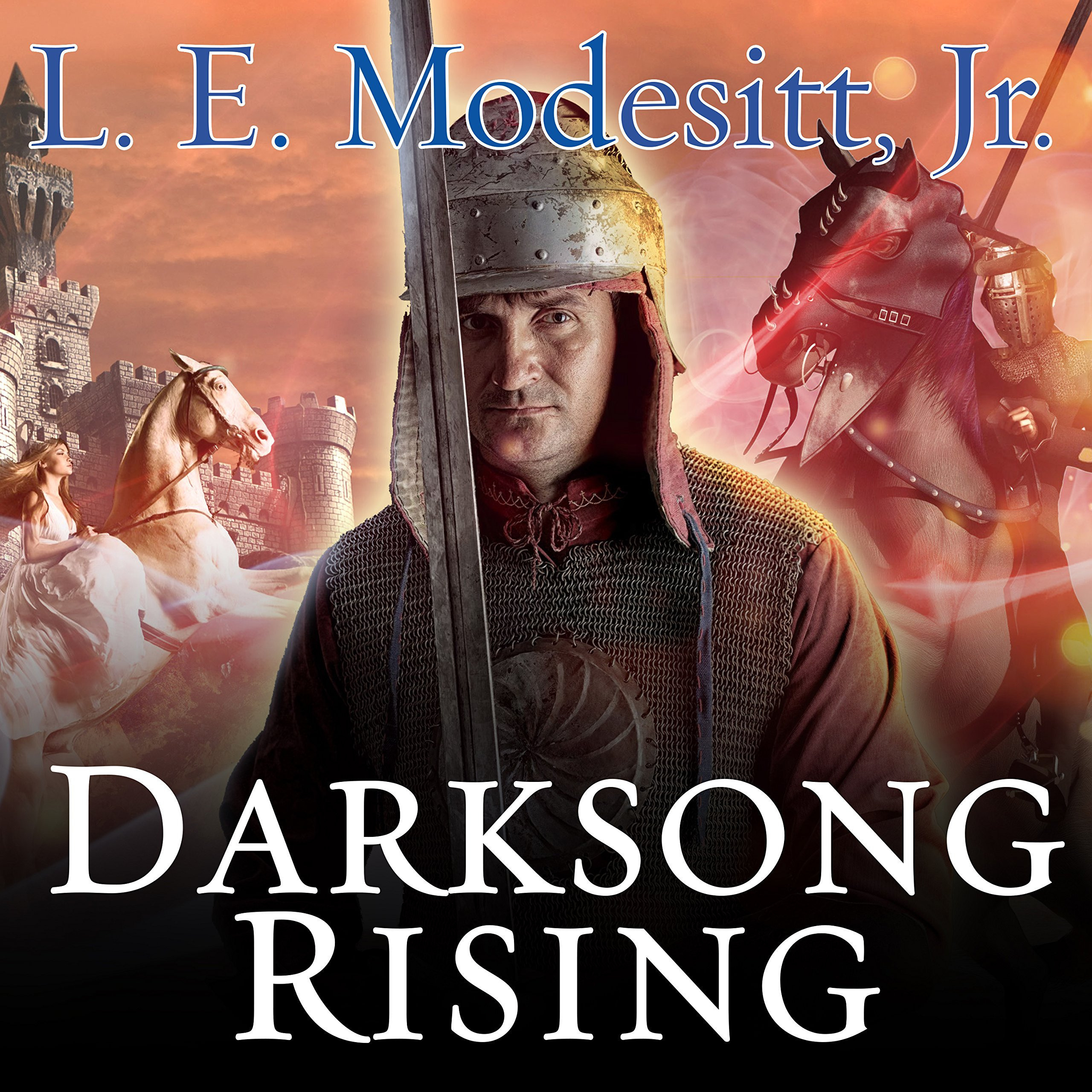 Printable Darksong Rising: The Third Book of the Spellsong Cycle Audiobook Cover Art