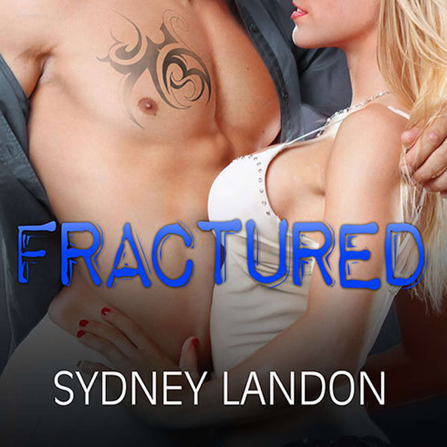 Printable Fractured Audiobook Cover Art