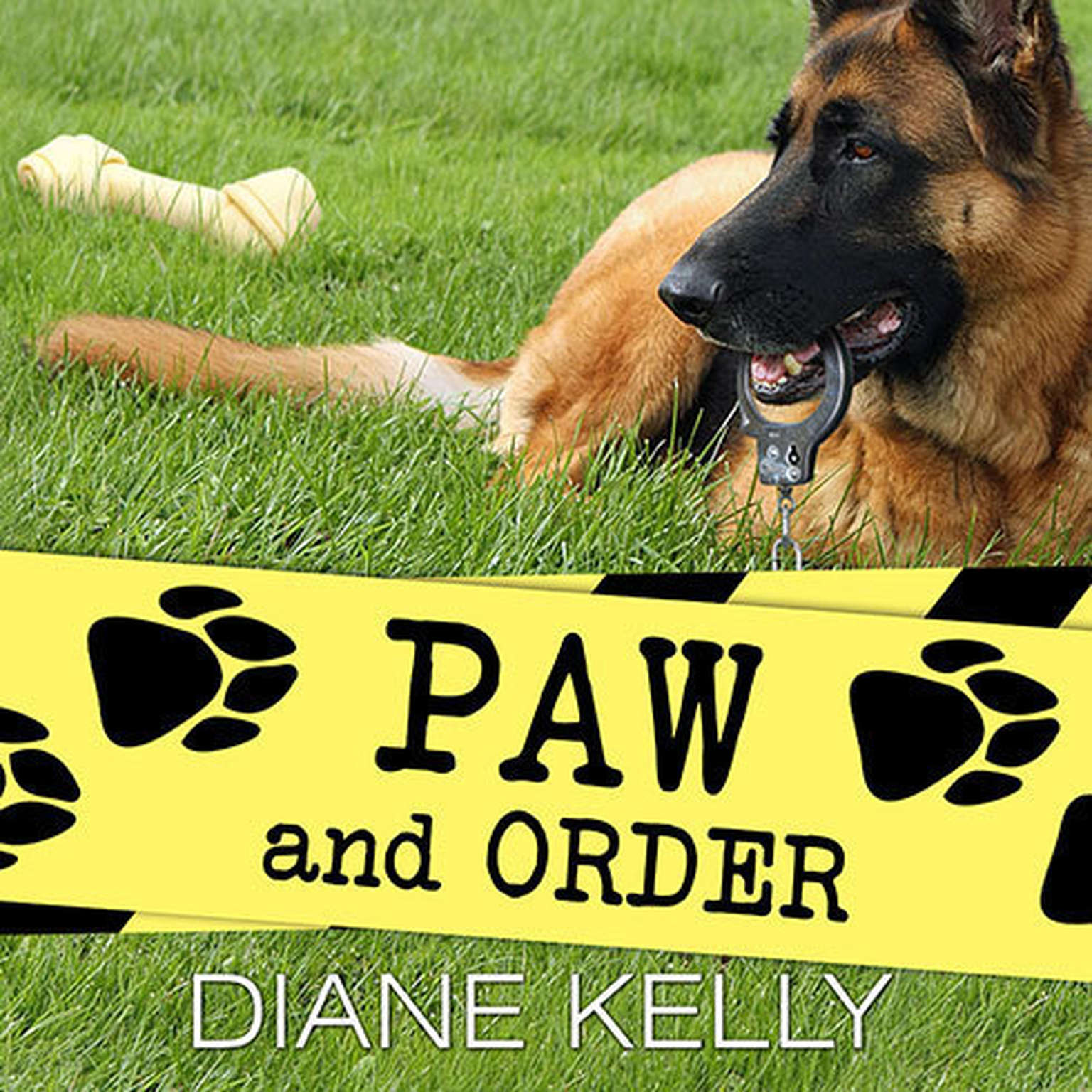 Printable Paw and Order Audiobook Cover Art