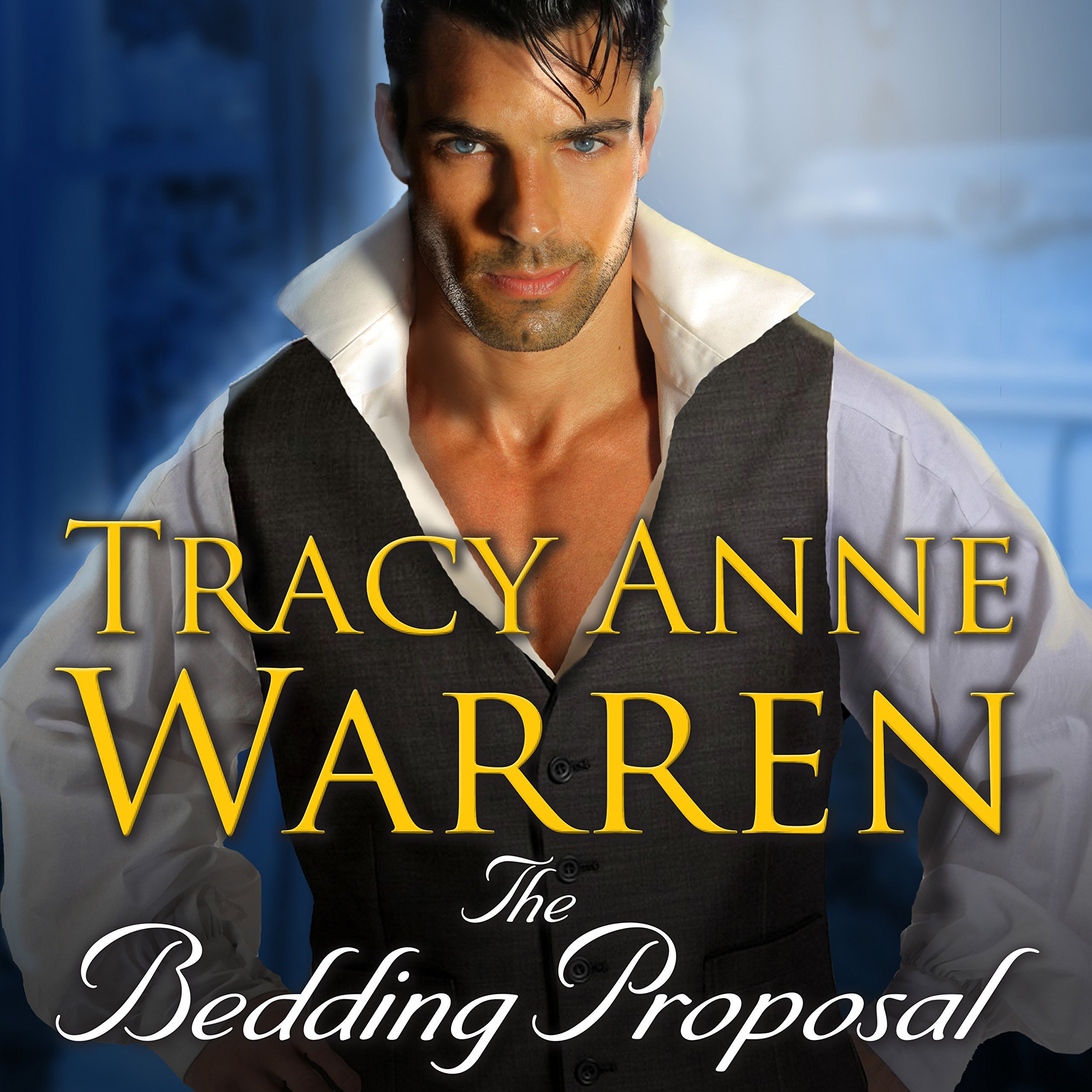 Printable The Bedding Proposal Audiobook Cover Art
