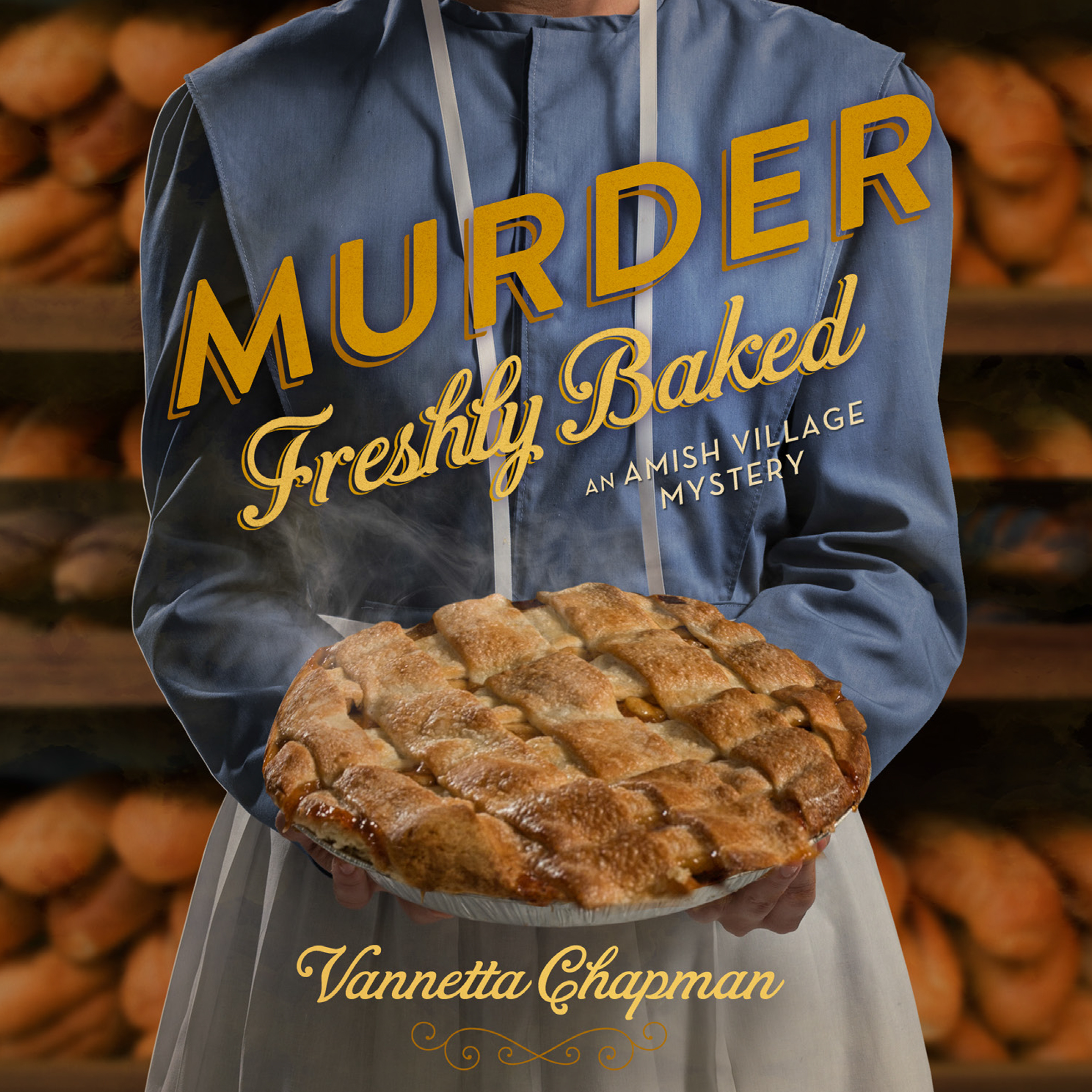 Printable Murder Freshly Baked: An Amish Village Mystery Audiobook Cover Art