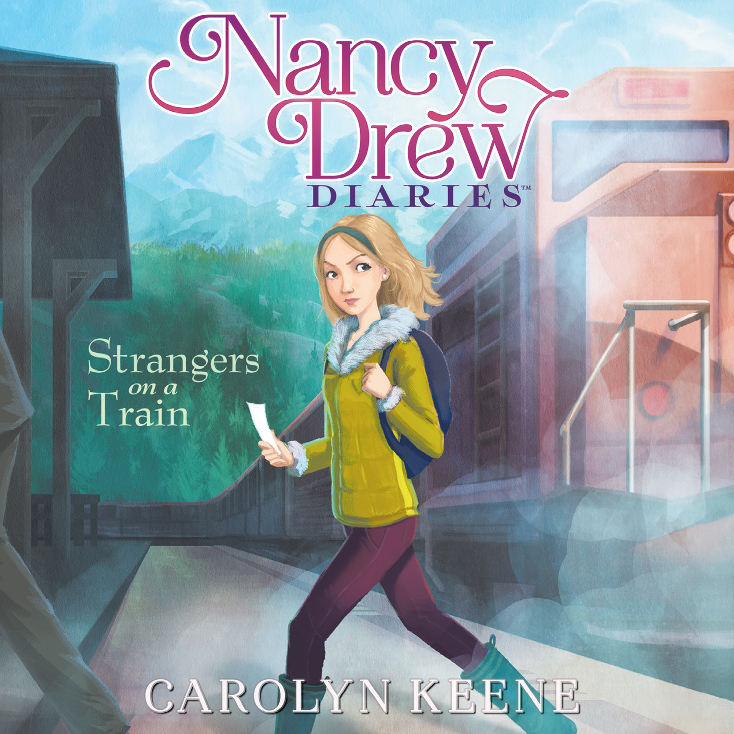 Printable Strangers on a Train Audiobook Cover Art