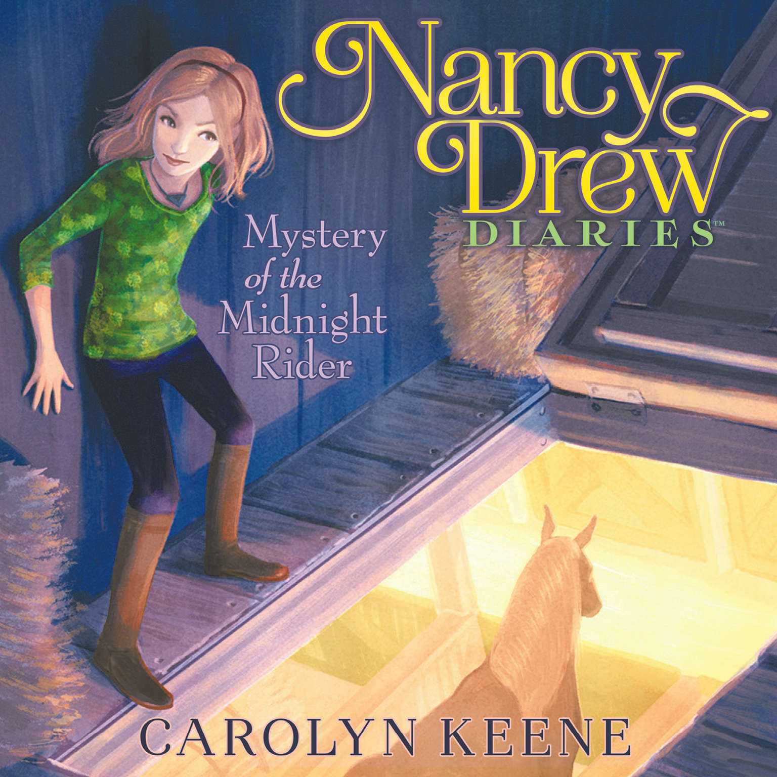 Mystery of the Midnight Rider Audiobook, by Carolyn Keene