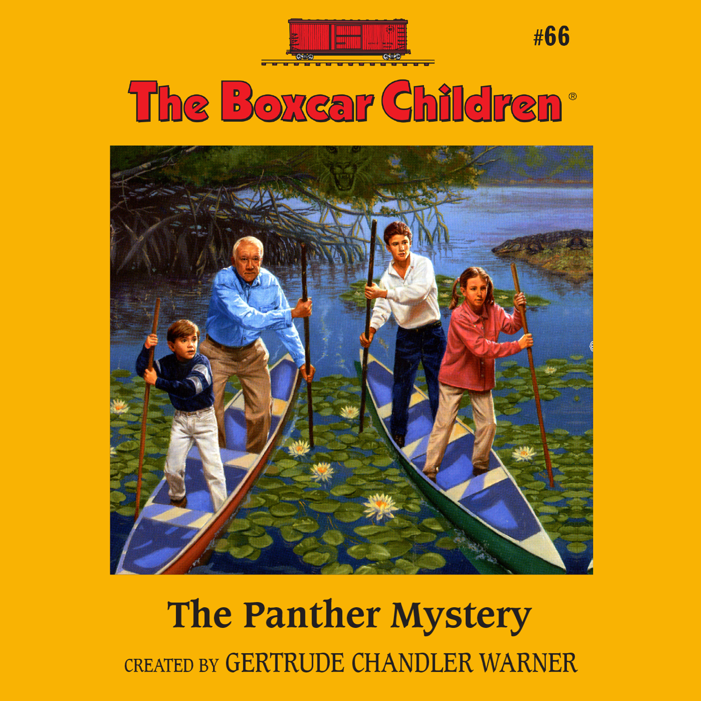 Printable The Panther Mystery Audiobook Cover Art