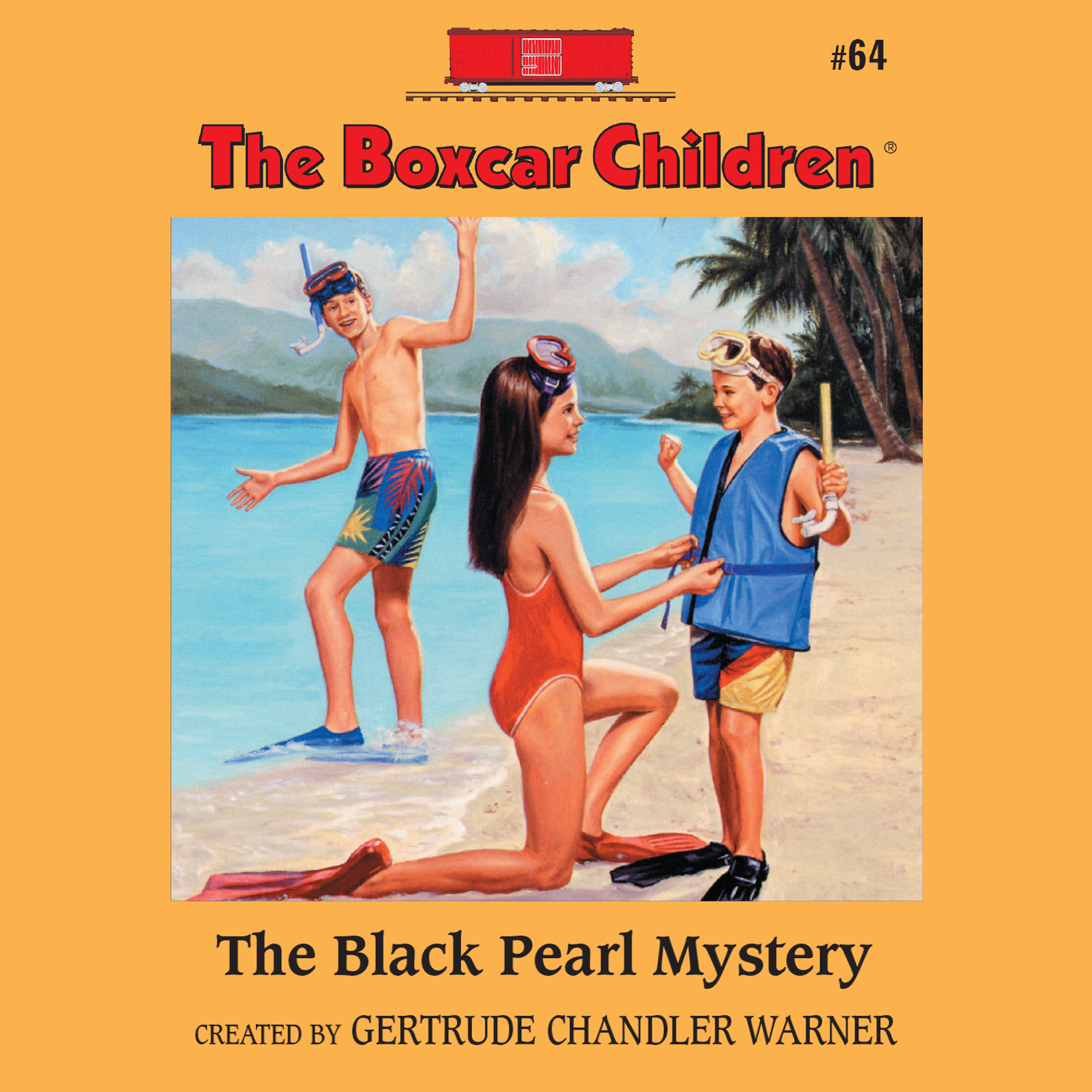 Printable The Black Pearl Mystery Audiobook Cover Art