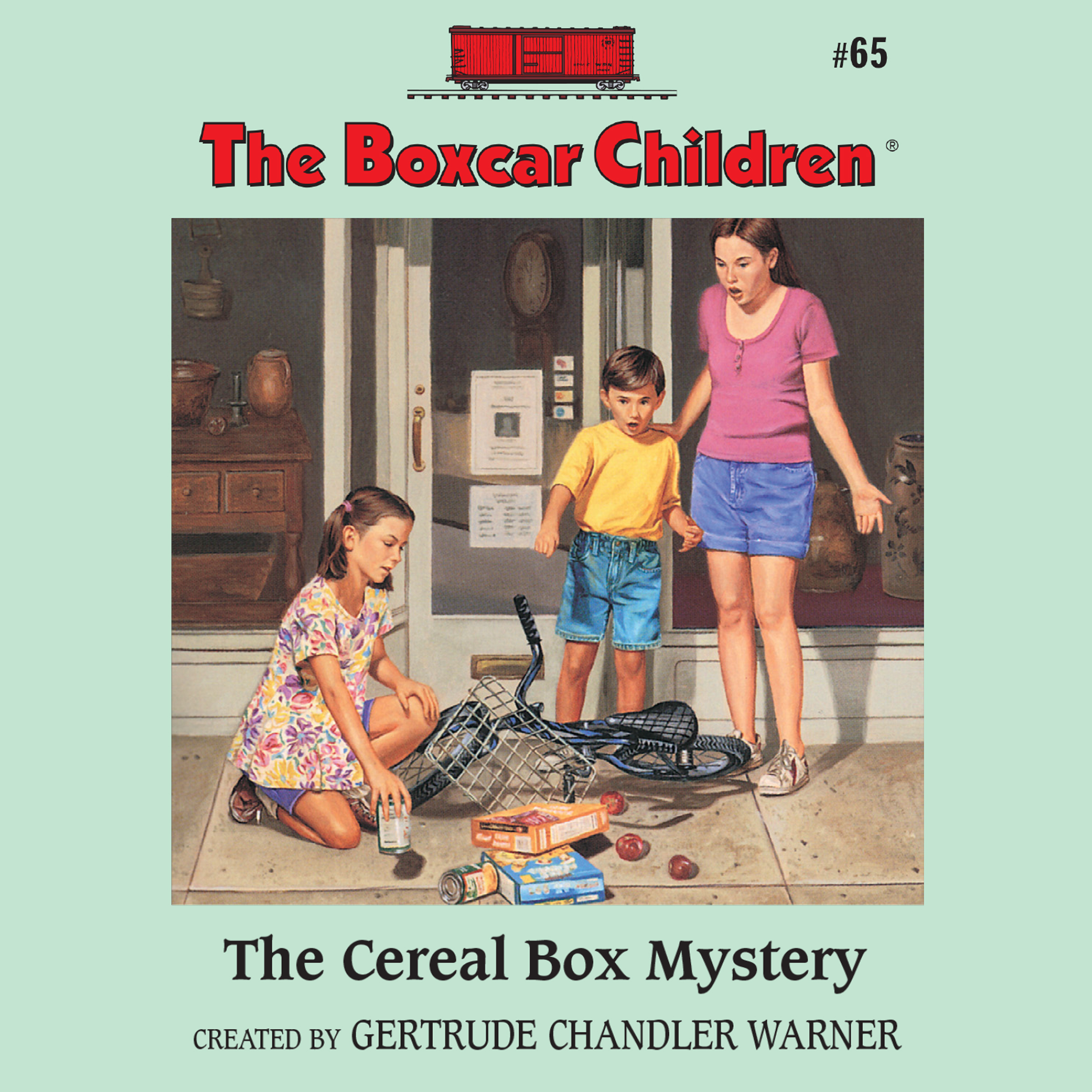 Printable The Cereal Box Mystery Audiobook Cover Art
