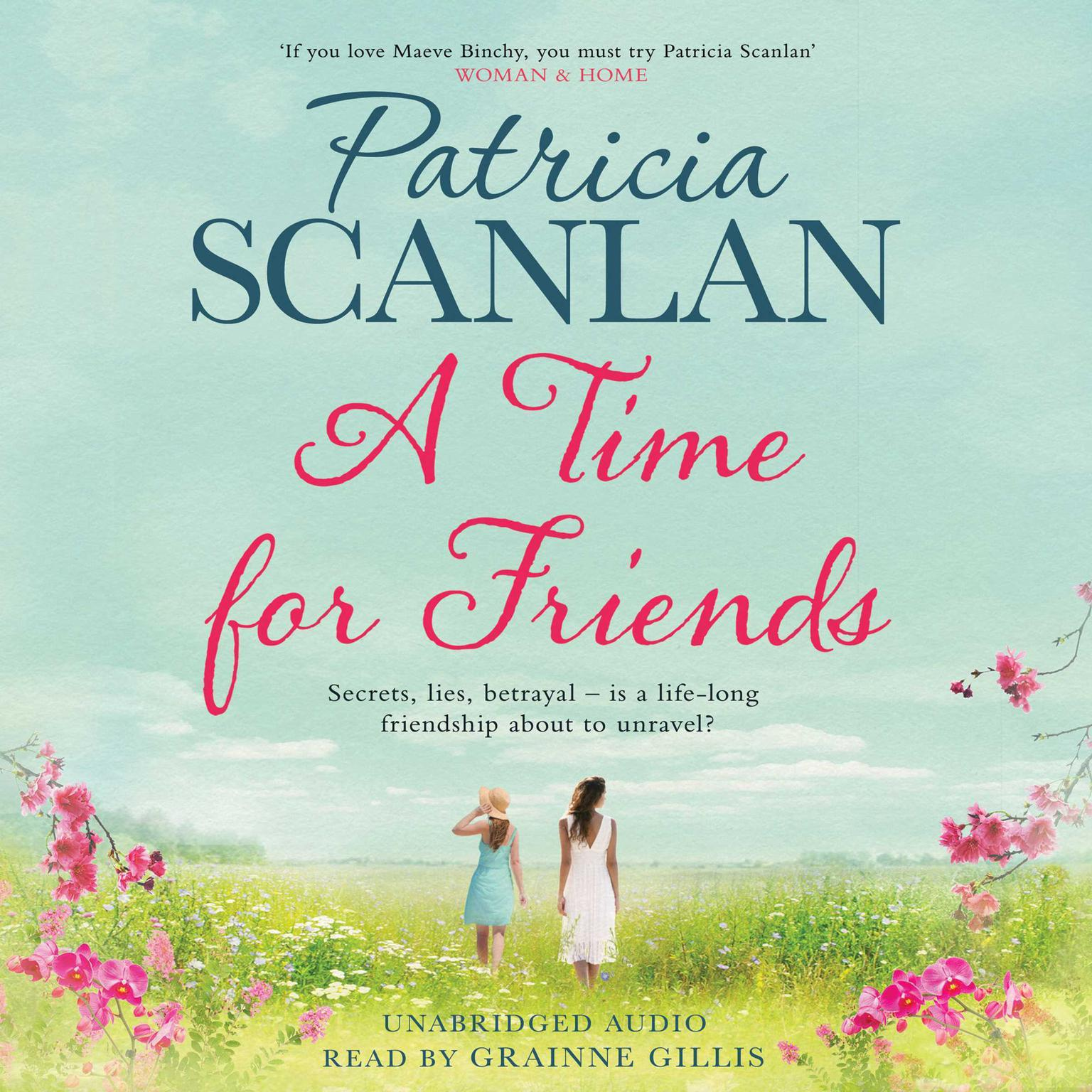 Printable A Time for Friends Audiobook Cover Art