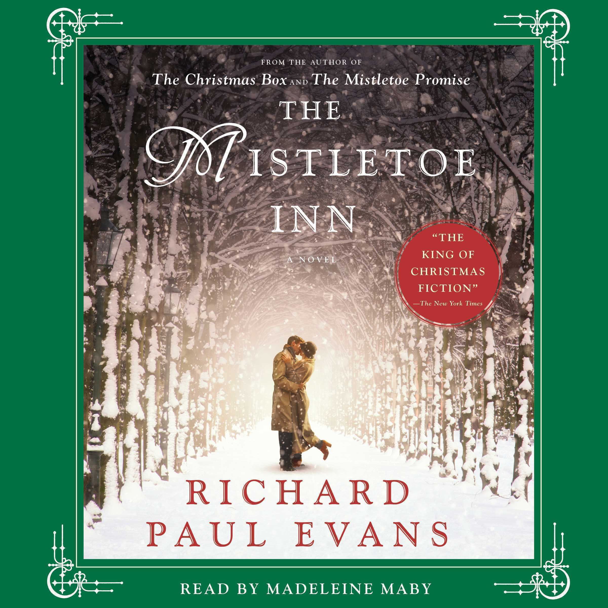 Printable The Mistletoe Inn: A Novel Audiobook Cover Art