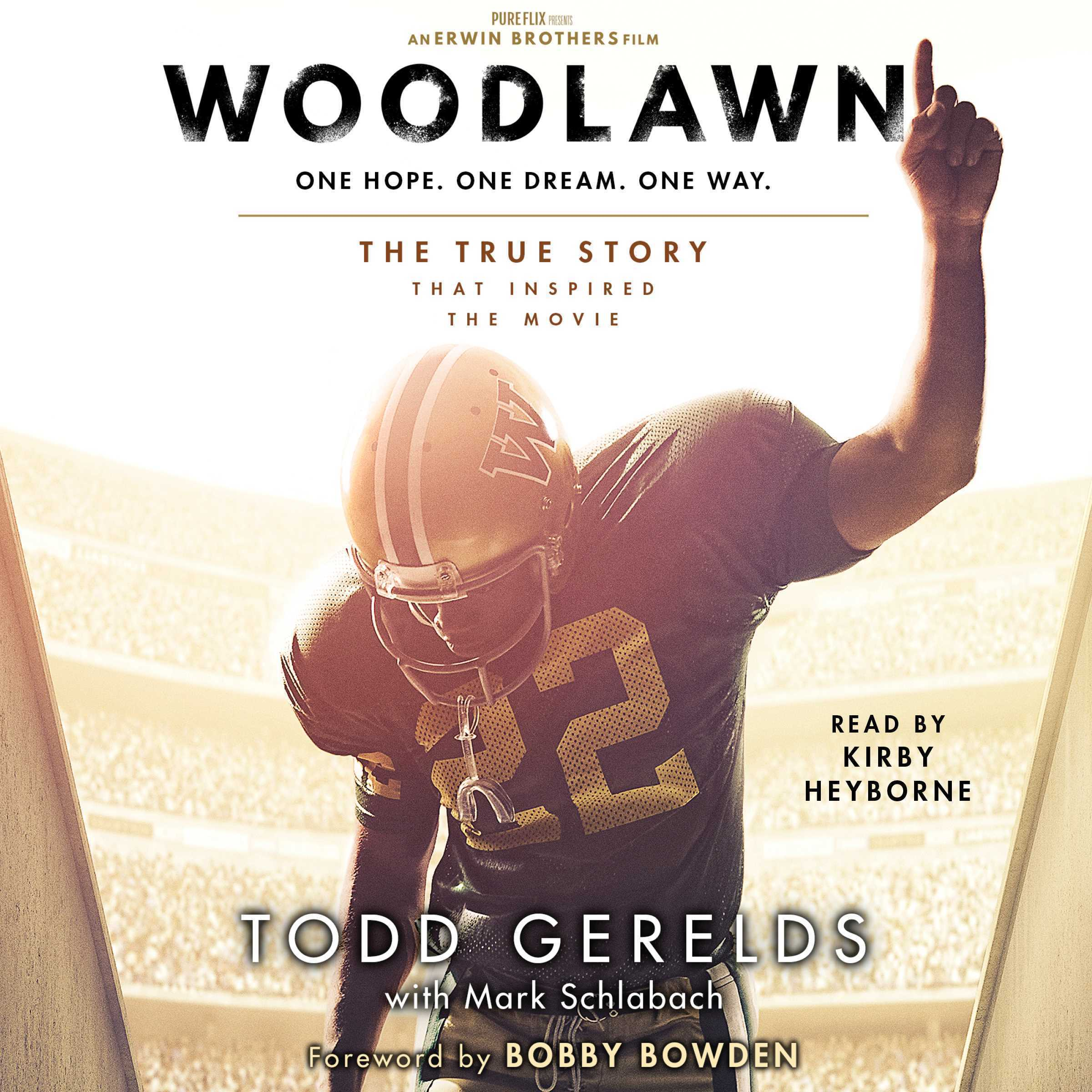Printable Woodlawn Audiobook Cover Art