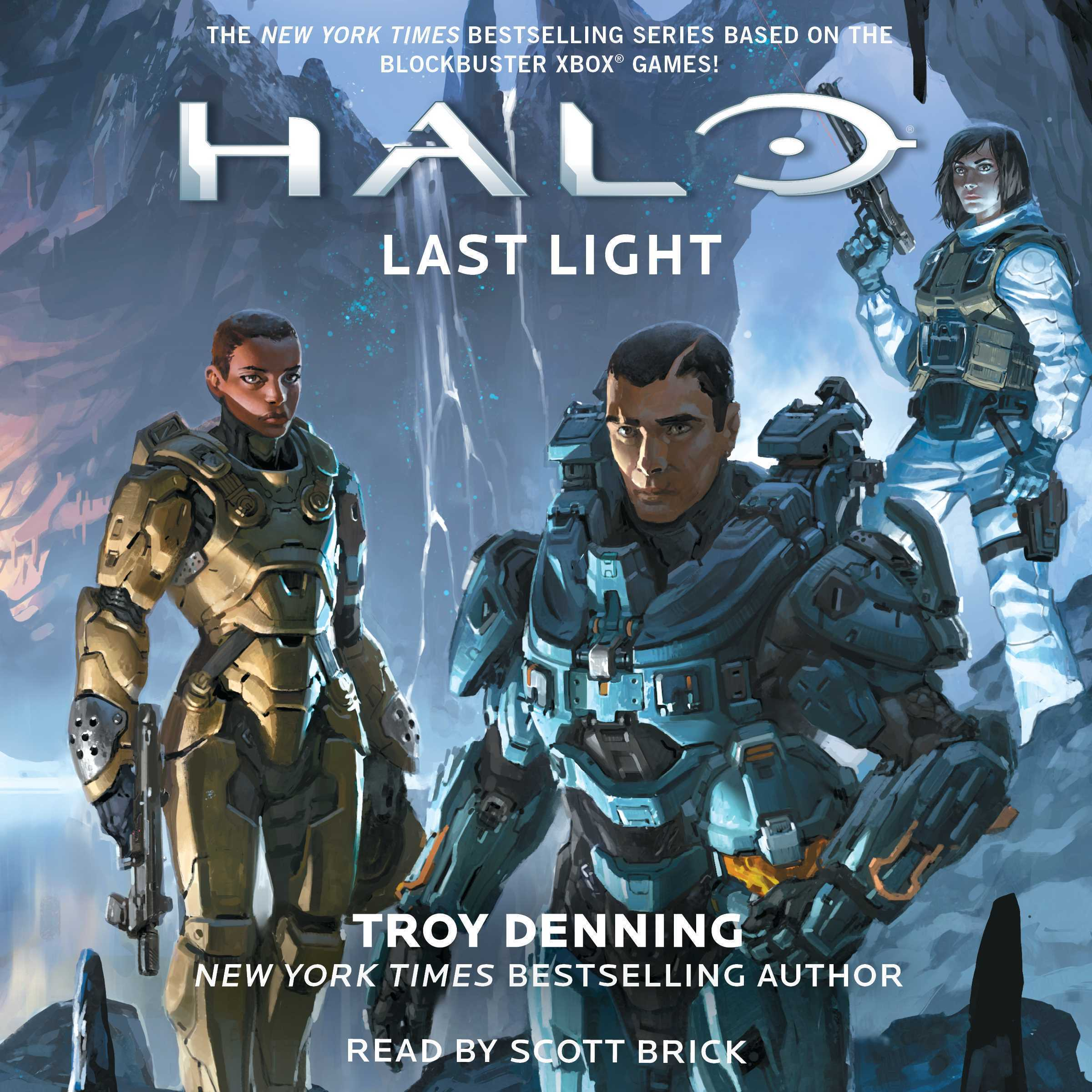 Printable HALO: Last Light Audiobook Cover Art