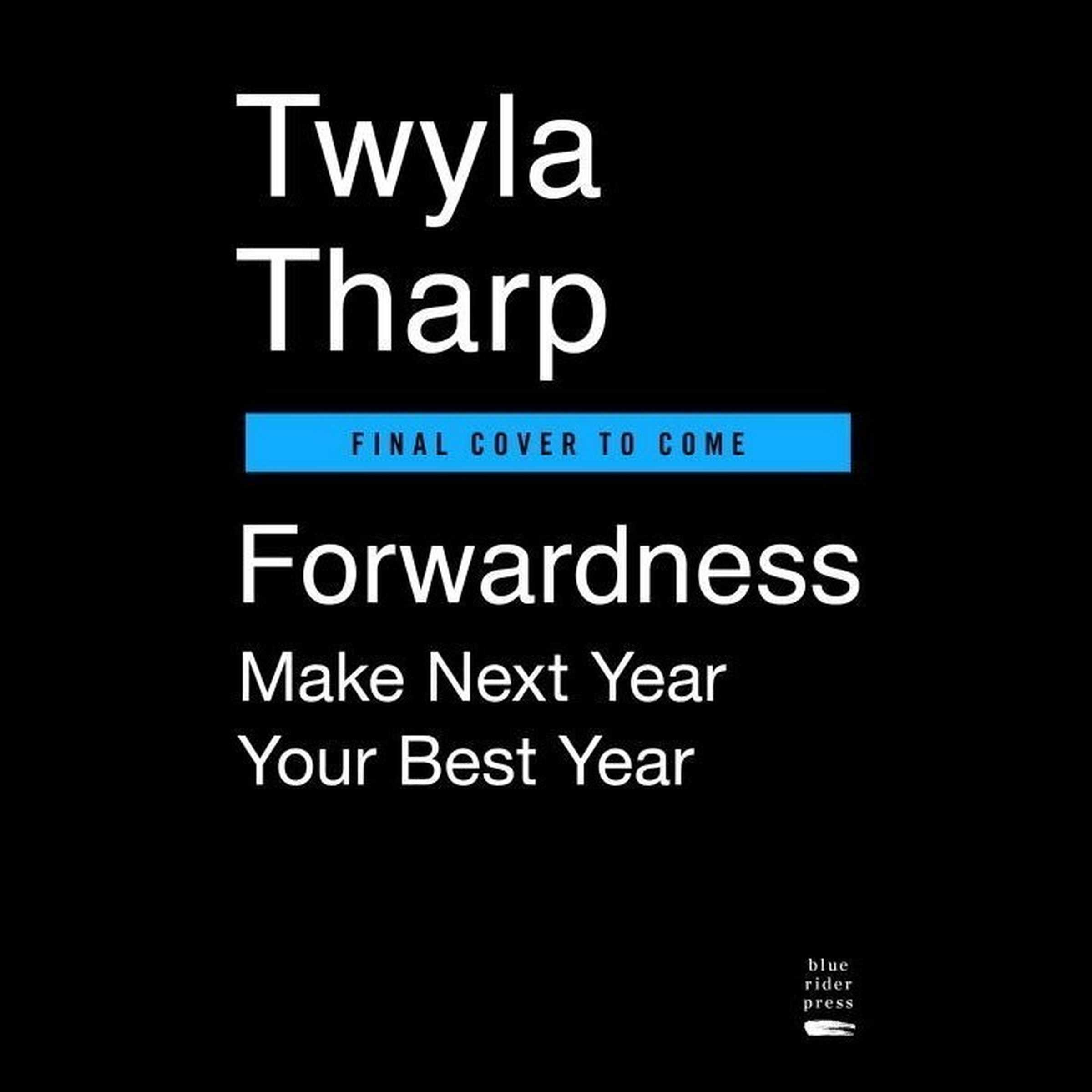 Printable Forwardness: Make Next Year Your Best Year Audiobook Cover Art