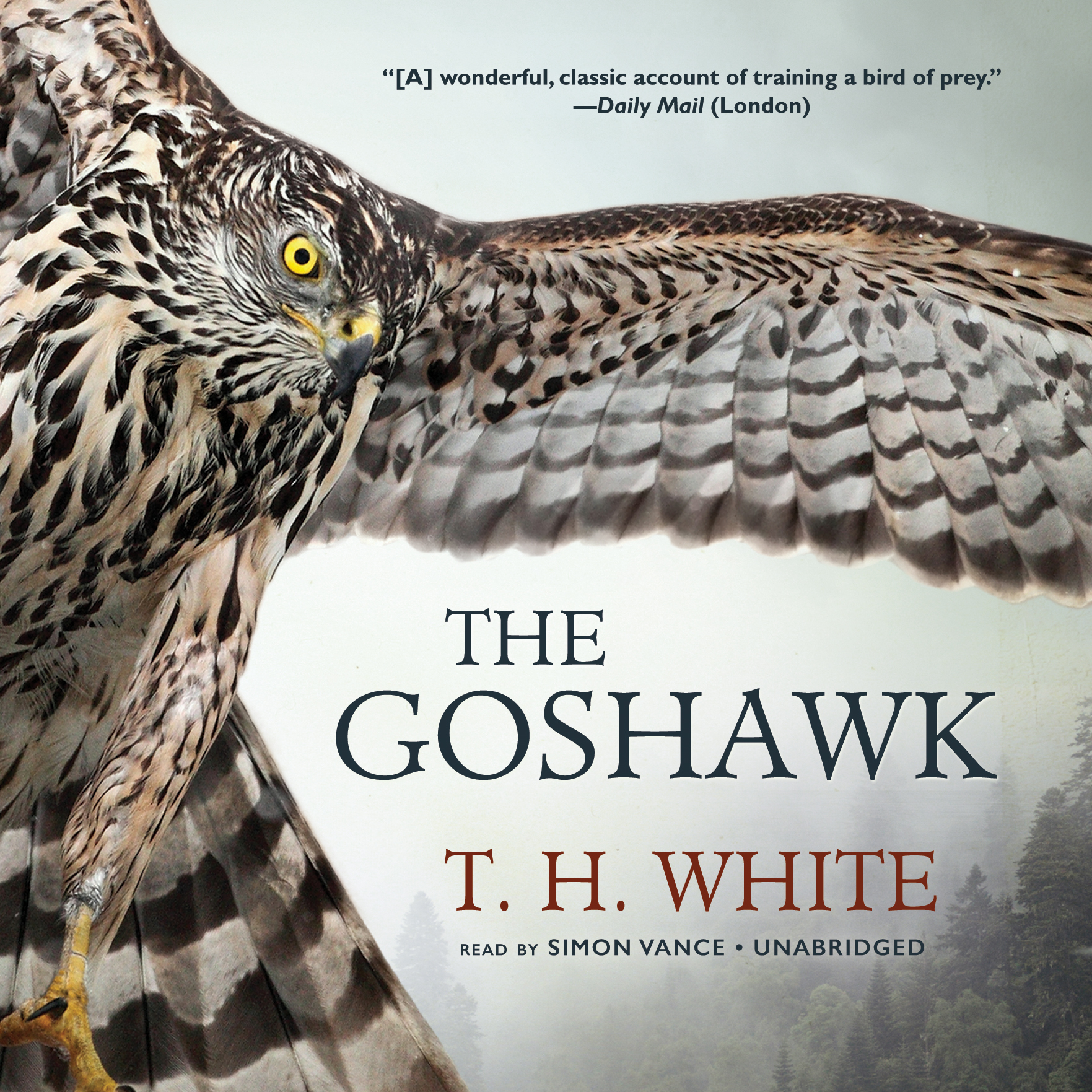 Printable The Goshawk Audiobook Cover Art