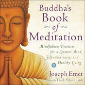 Buddhas Book of Meditation: Mindfulness Practices for a Quieter Mind, Self-Awareness, and Healthy Living Audiobook, by Joseph Emet
