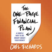 The One-Page Financial Plan: A Simple Way to Be Smart about Your Money, by Carl Richards