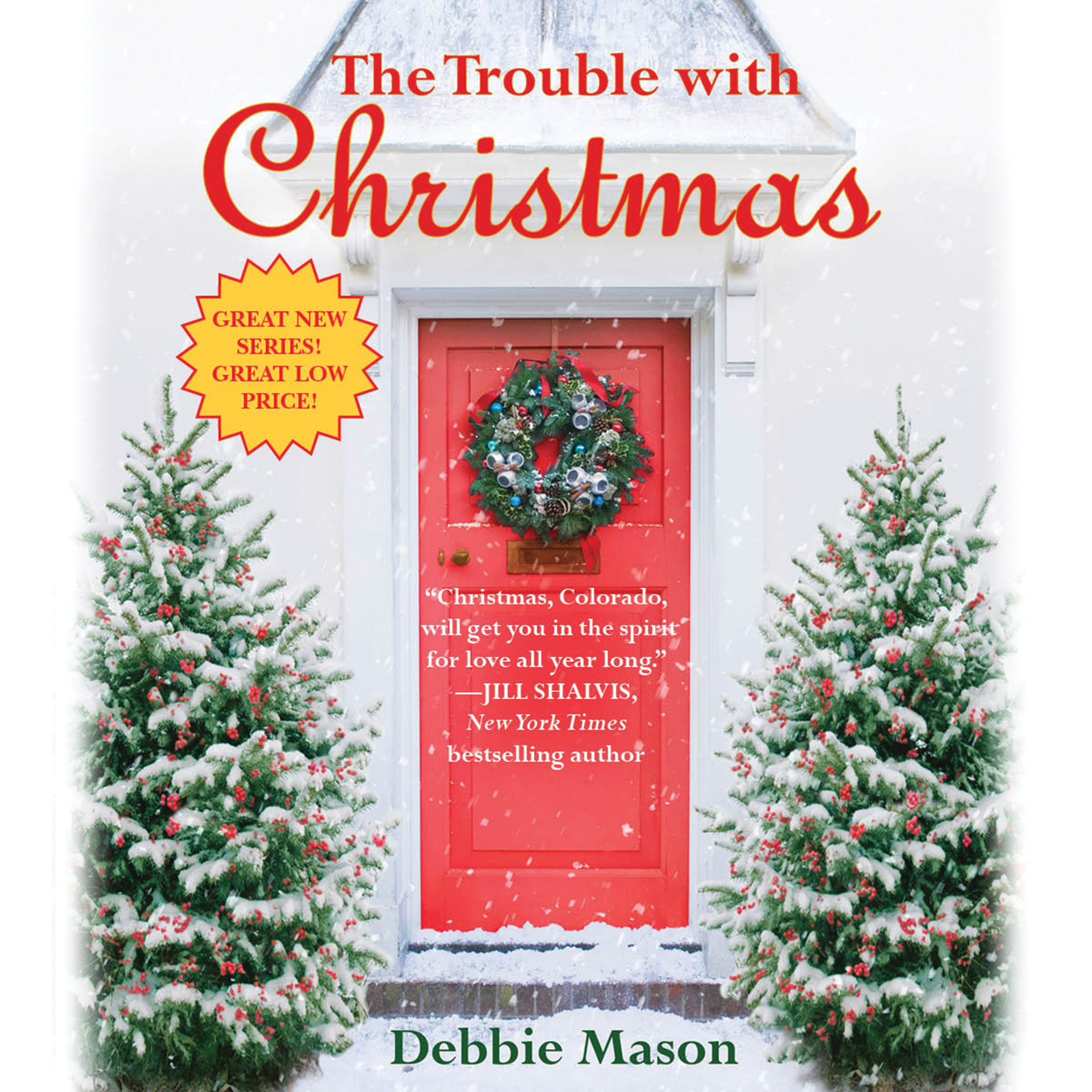 Printable The Trouble with Christmas Audiobook Cover Art