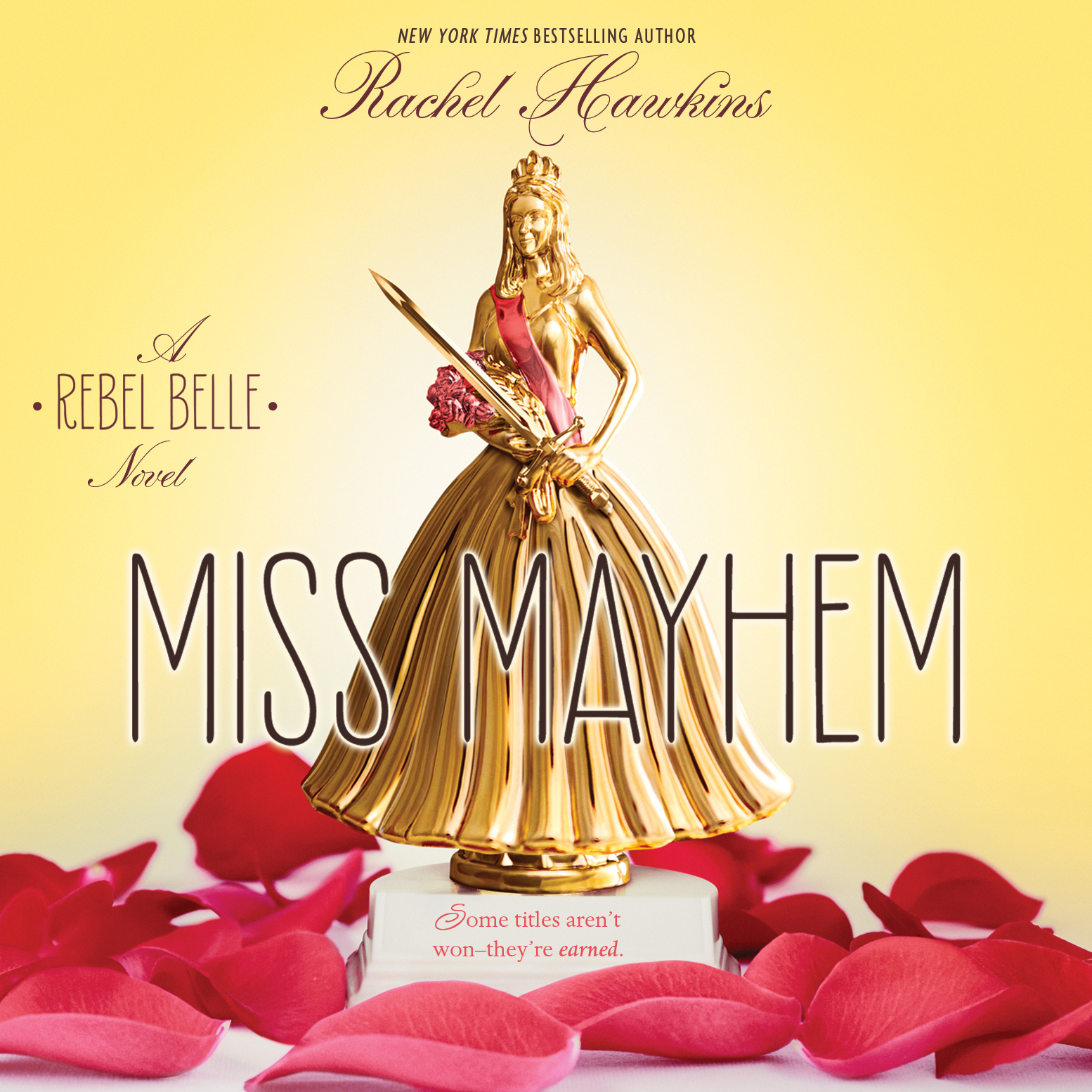 Printable Miss Mayhem: A Rebel Belle Novel Audiobook Cover Art