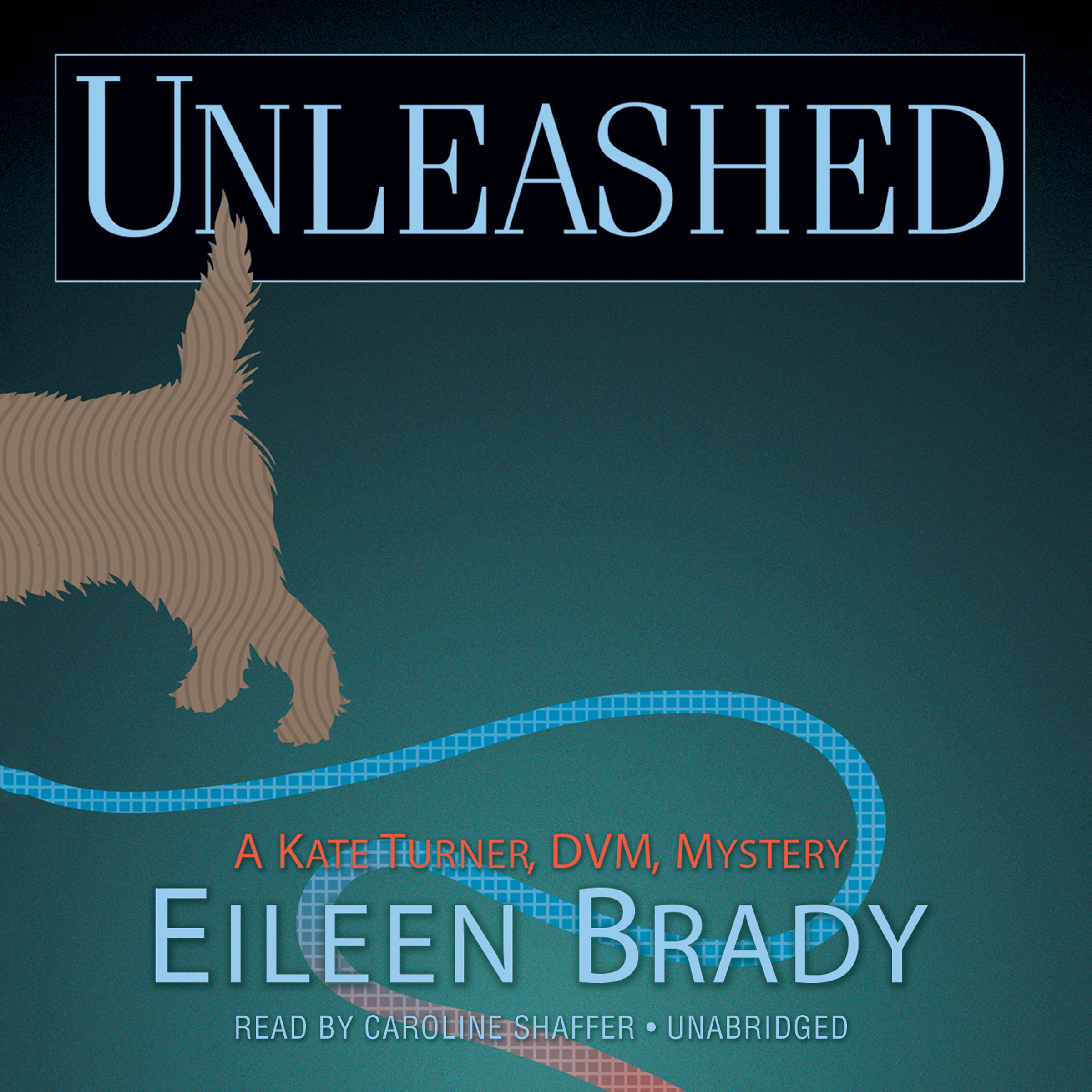 Printable Unleashed: A Kate Turner, DVM, Mystery Audiobook Cover Art