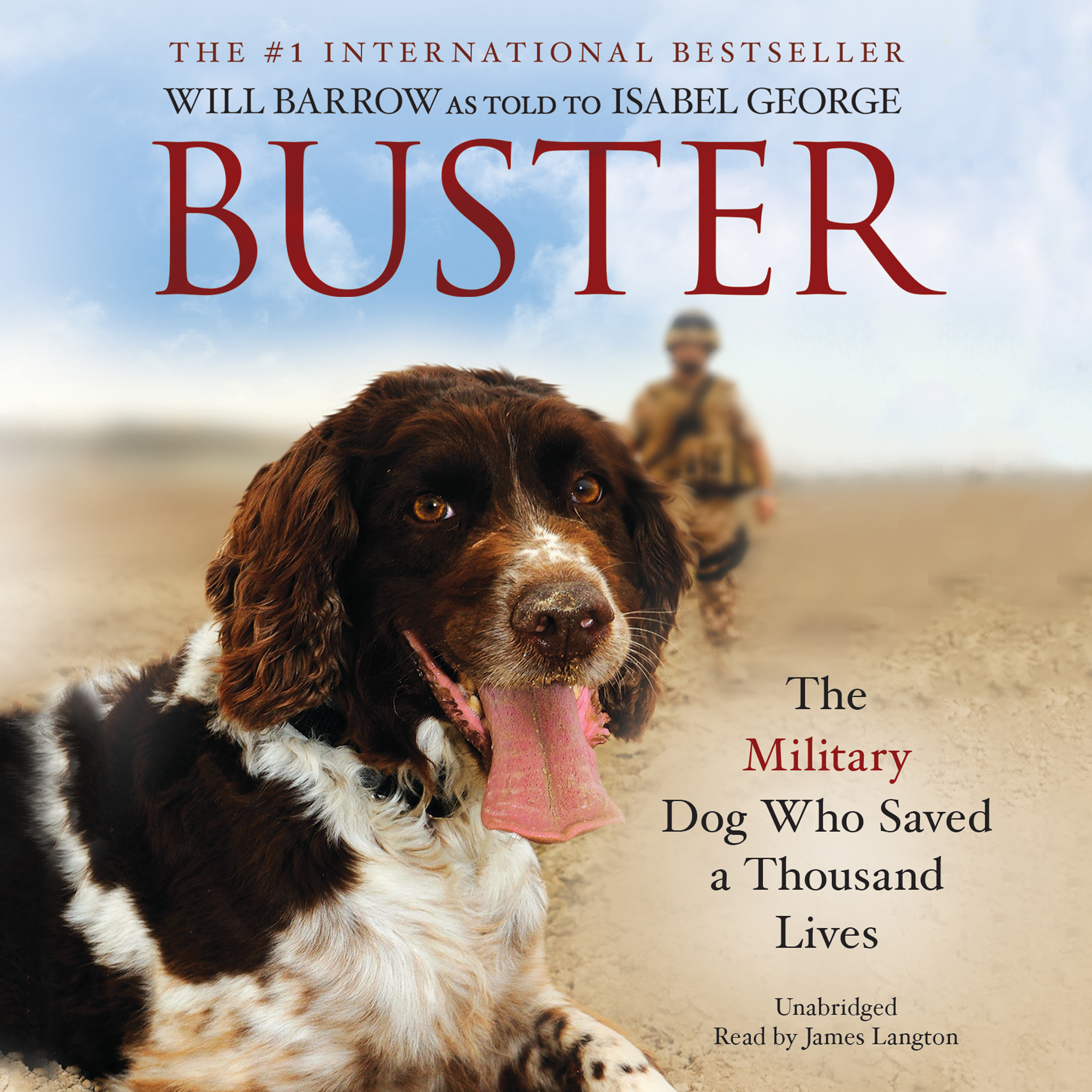 Printable Buster: The Military Dog Who Saved a Thousand Lives Audiobook Cover Art