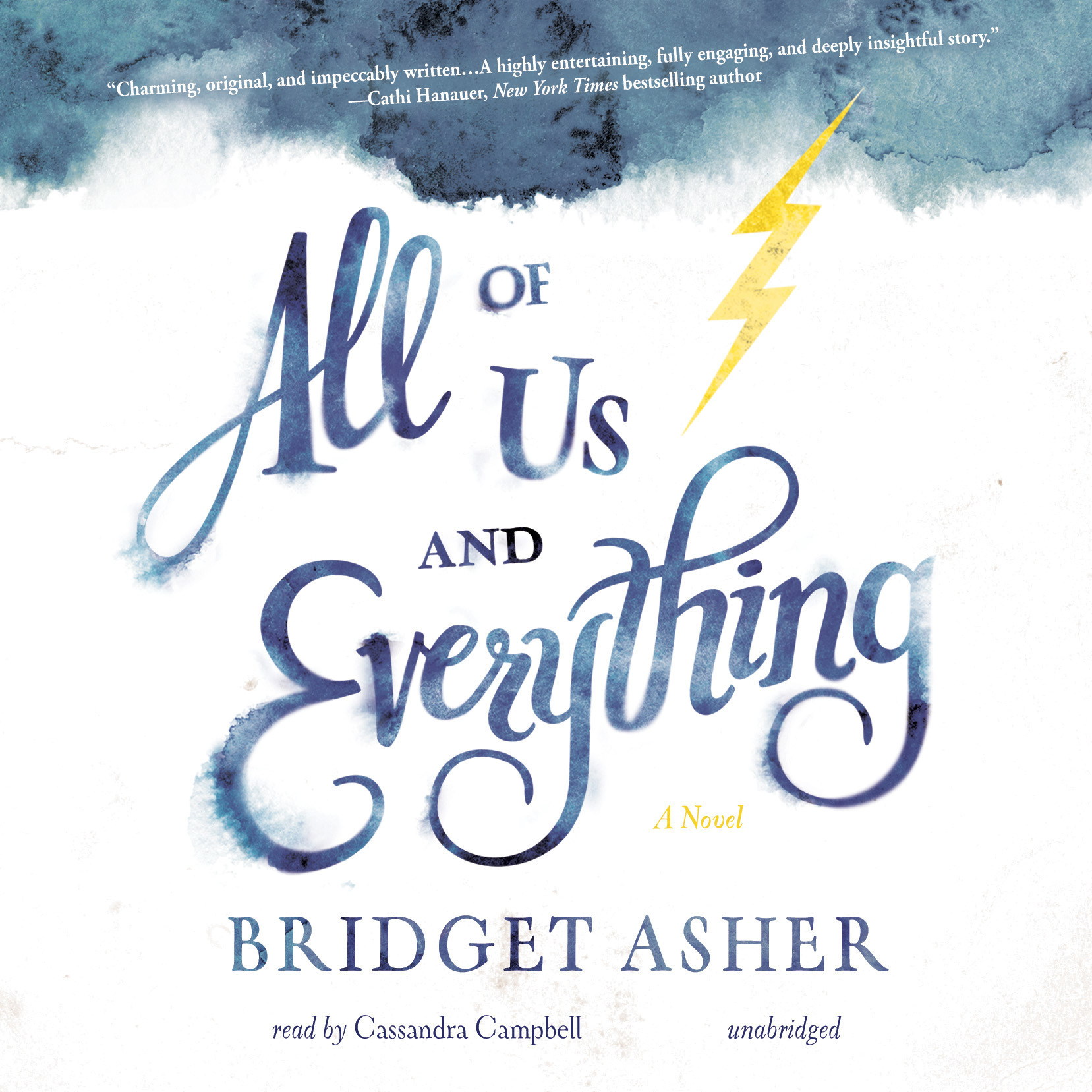 Printable All of Us and Everything: A Novel Audiobook Cover Art