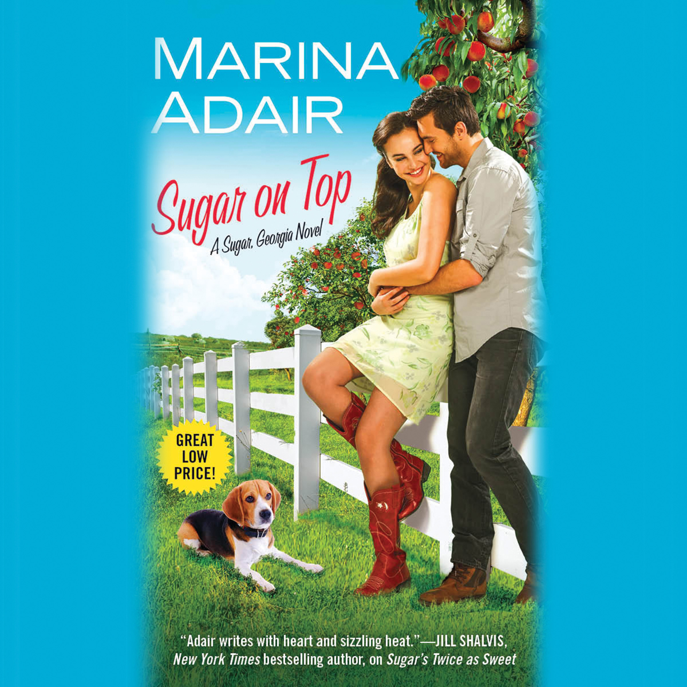 Printable Sugar on Top Audiobook Cover Art