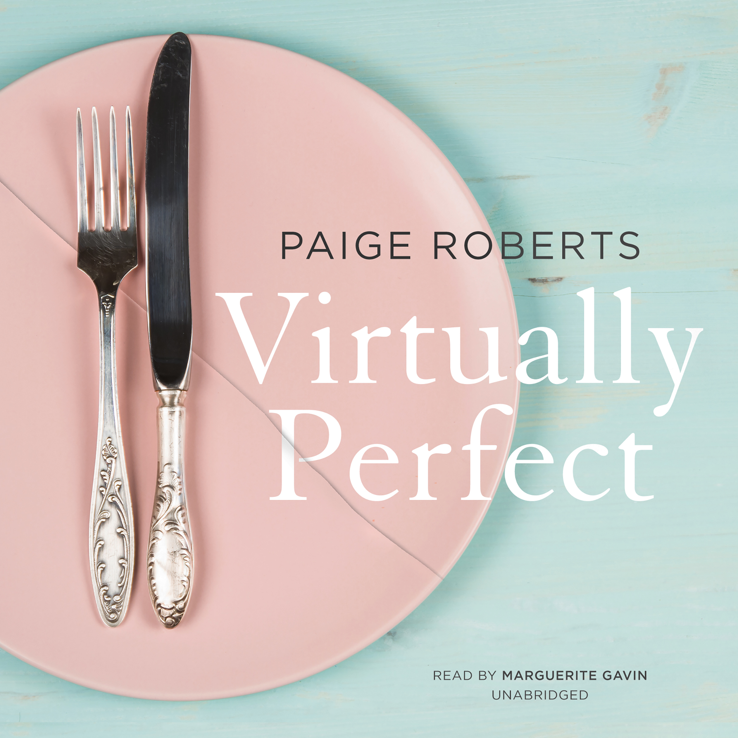 Printable Virtually Perfect Audiobook Cover Art