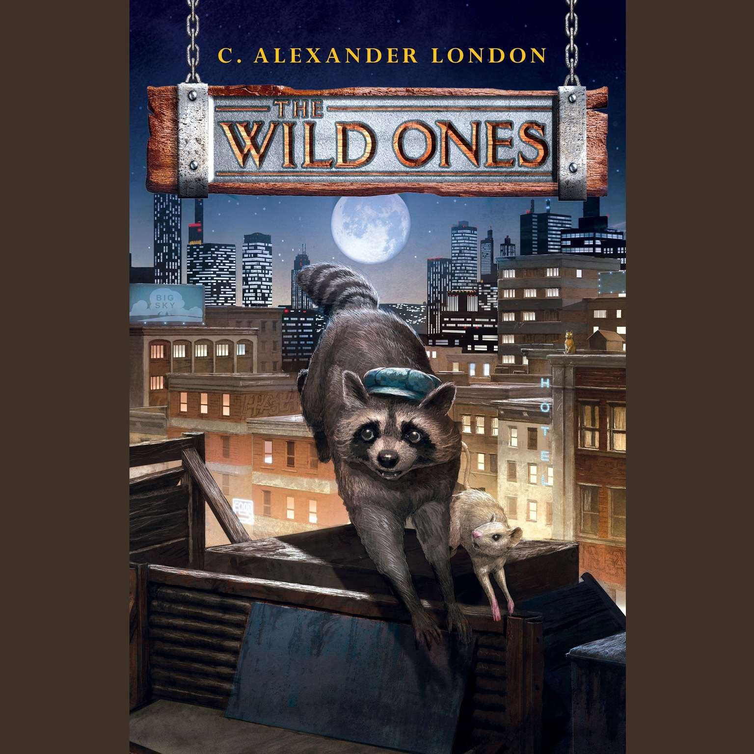 Printable The Wild Ones Audiobook Cover Art