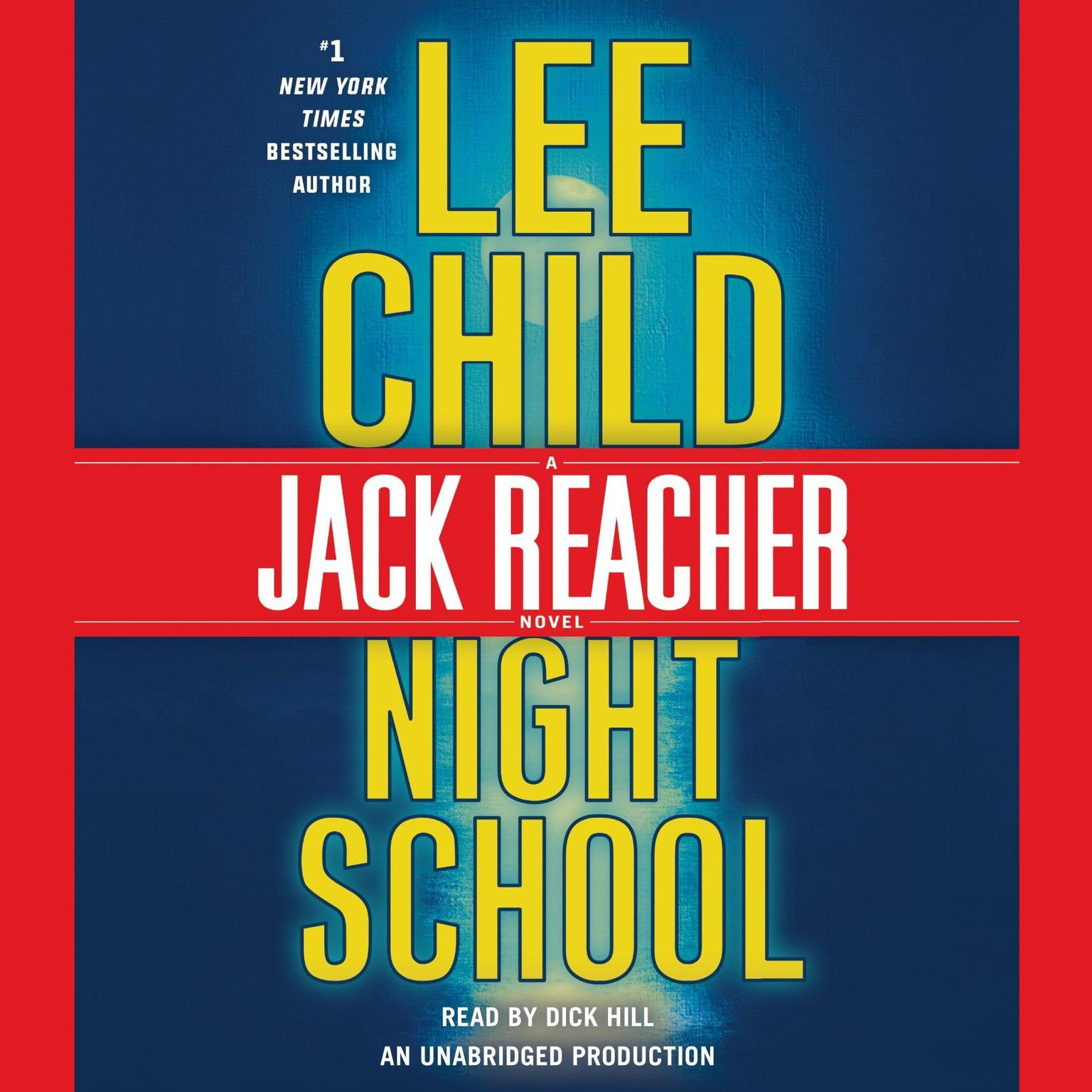 Printable Night School: A Jack Reacher Novel Audiobook Cover Art