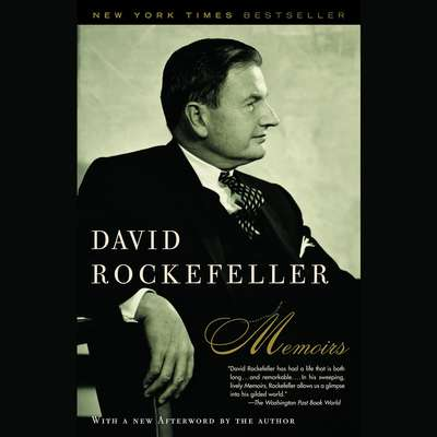 Memoirs Audiobook, by David Rockefeller